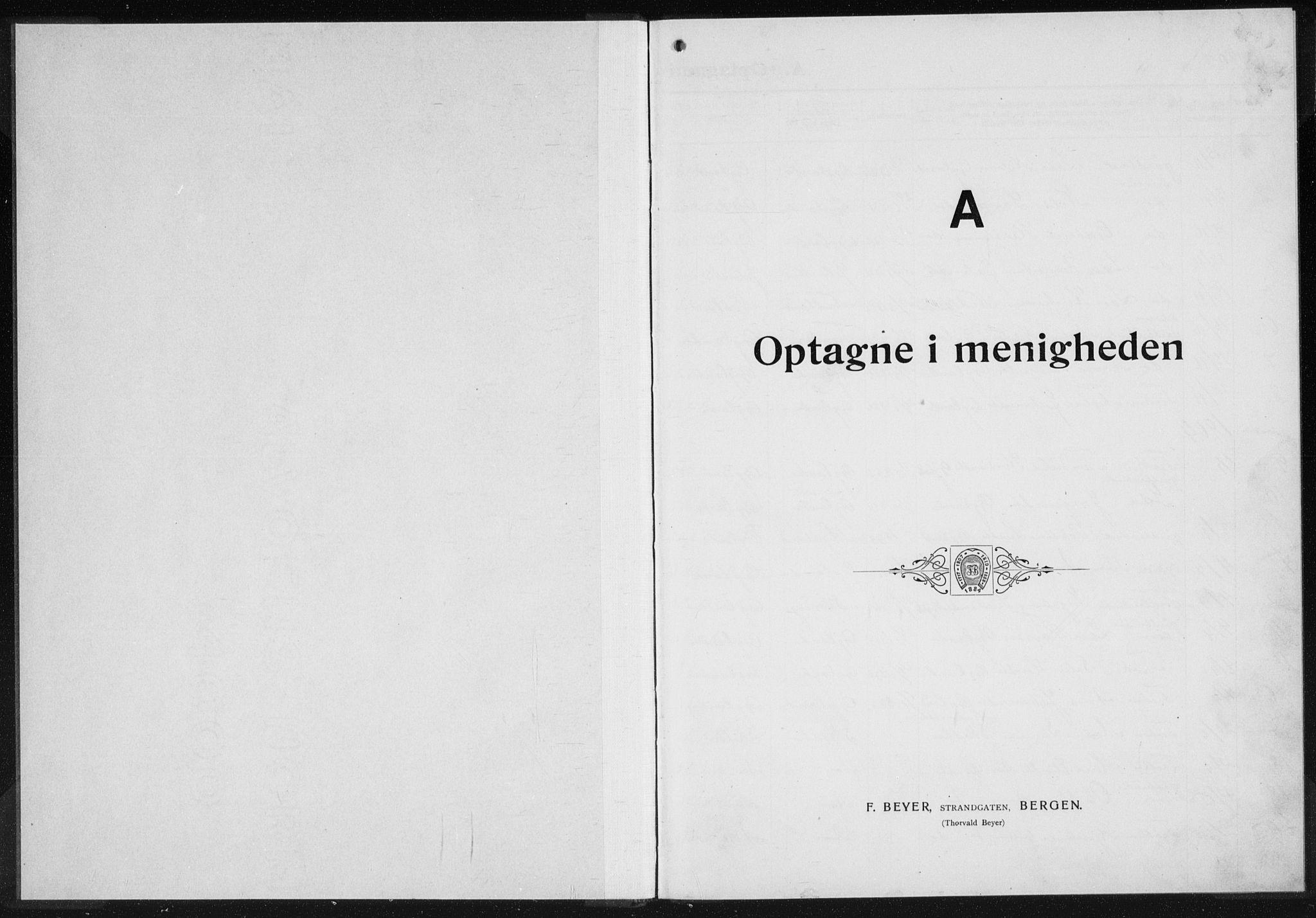SAK, Baptistmenigheten i Gyland, F/Fa/L0001: Dissenter register no. F 1, 1902-1937