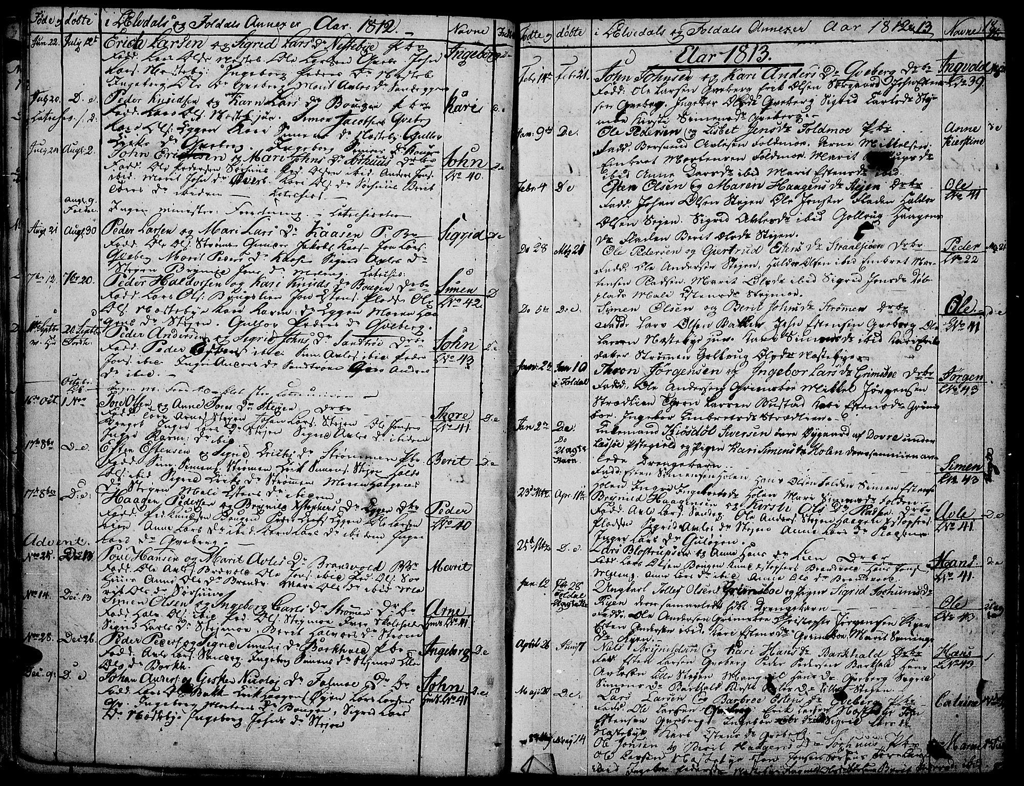 SAH, Tynset prestekontor, Parish register (official) no. 16, 1801-1814, p. 18