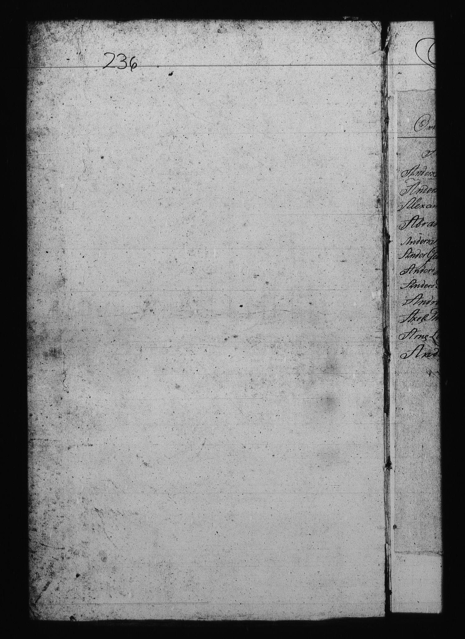 RA, Sjøetaten, F/L0237: Bergen distrikt, bind 5, 1801