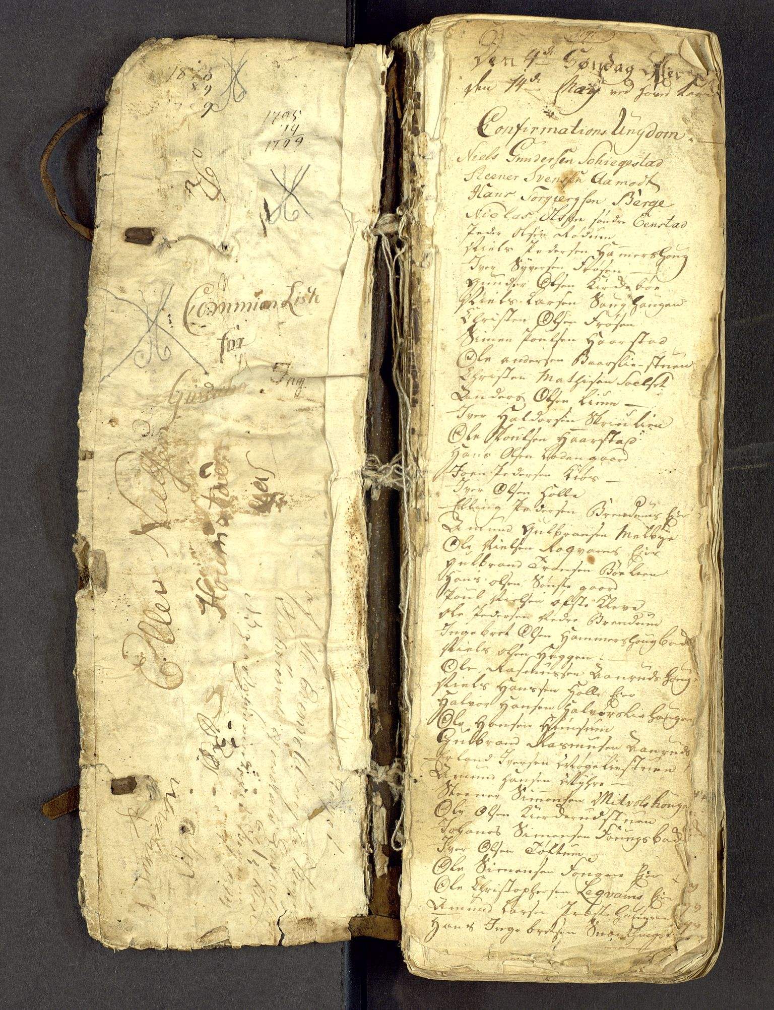 SAH, Gausdal prestekontor, Parish register draft no. -, 1794-1811