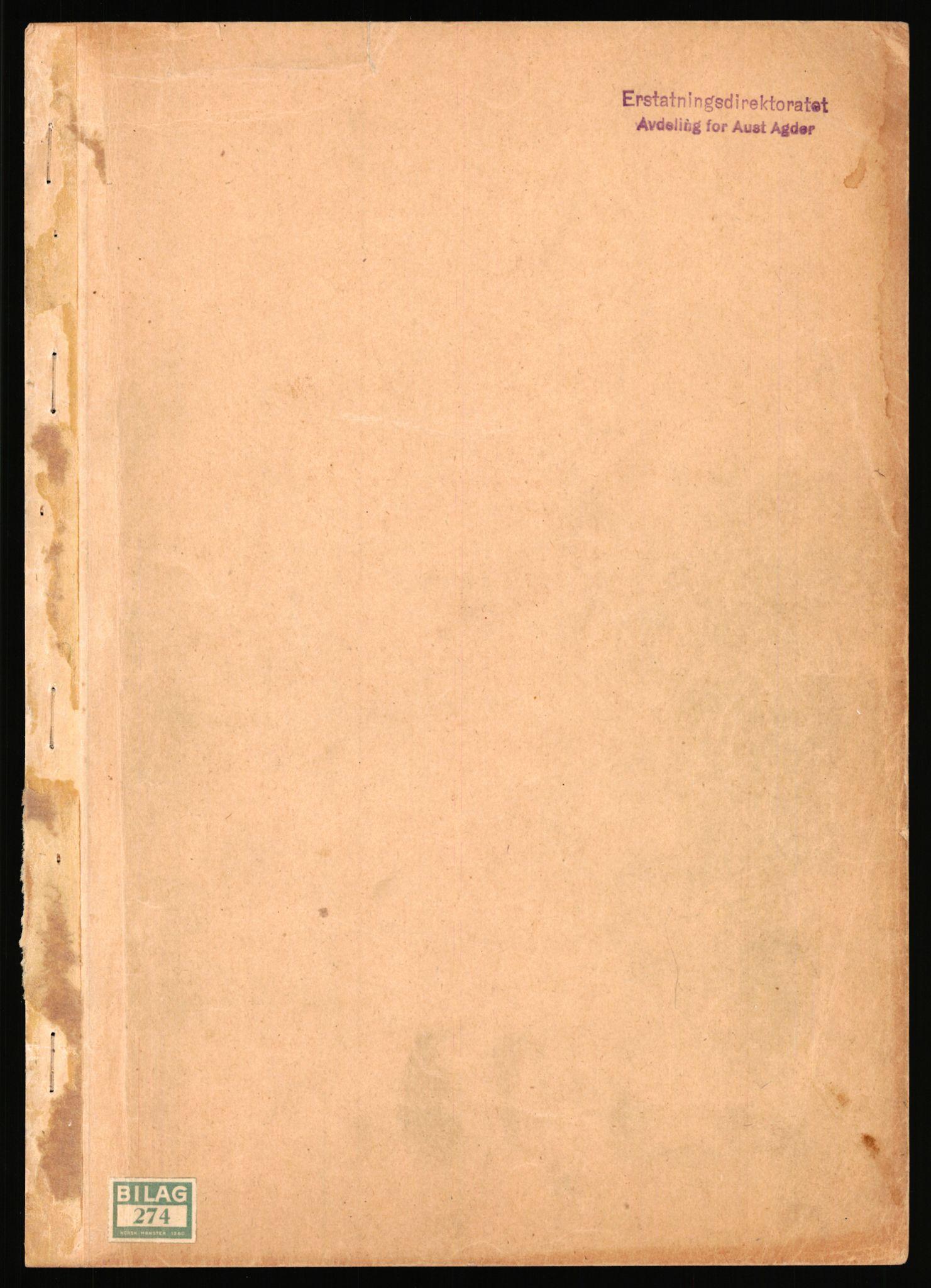 RA, Landssvikarkivet, Arendal politikammer, D/Dc/L0029: Anr. 192/45, 1945-1951, p. 942