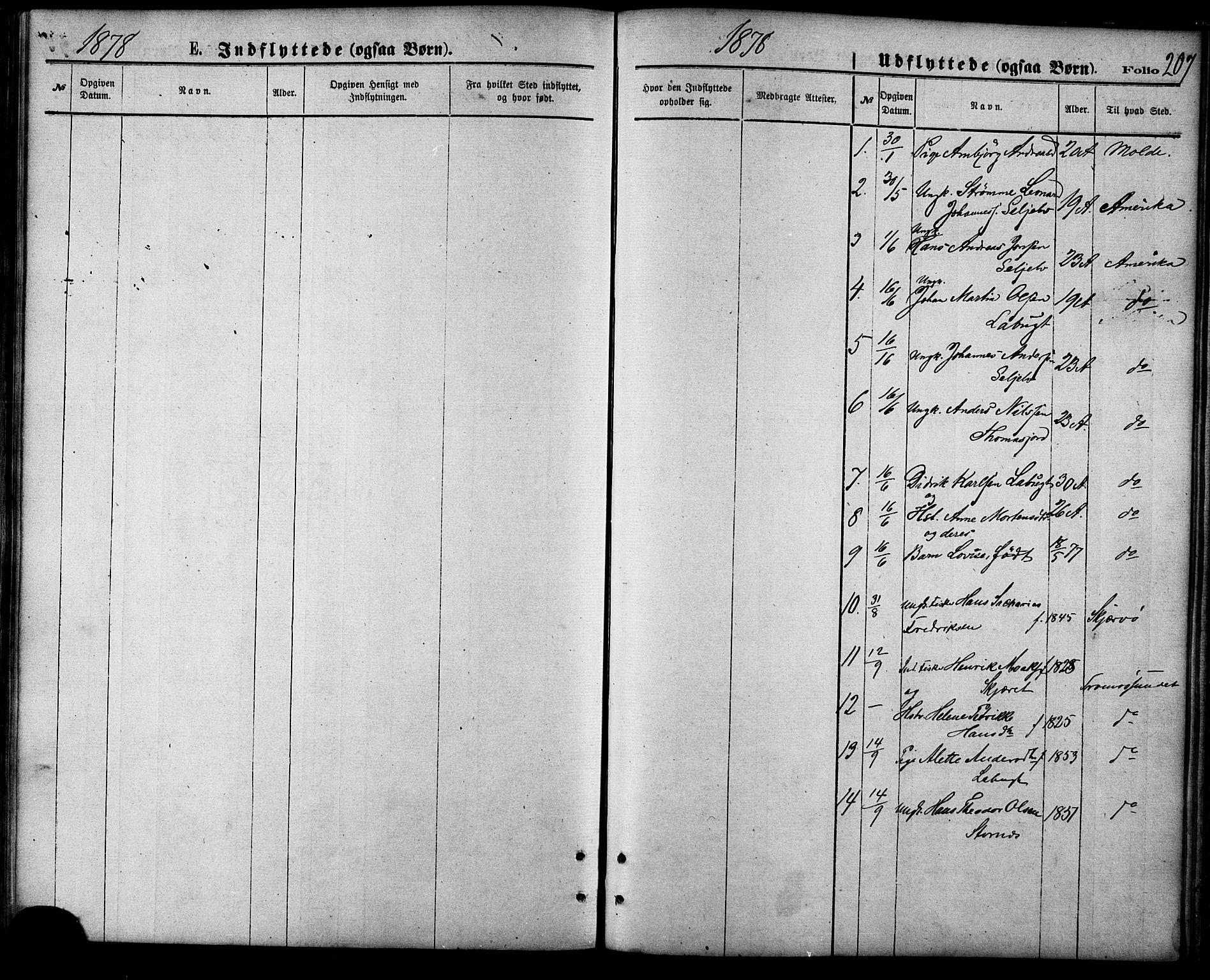 SATØ, Balsfjord sokneprestembete, Parish register (official) no. 4, 1871-1883, p. 207