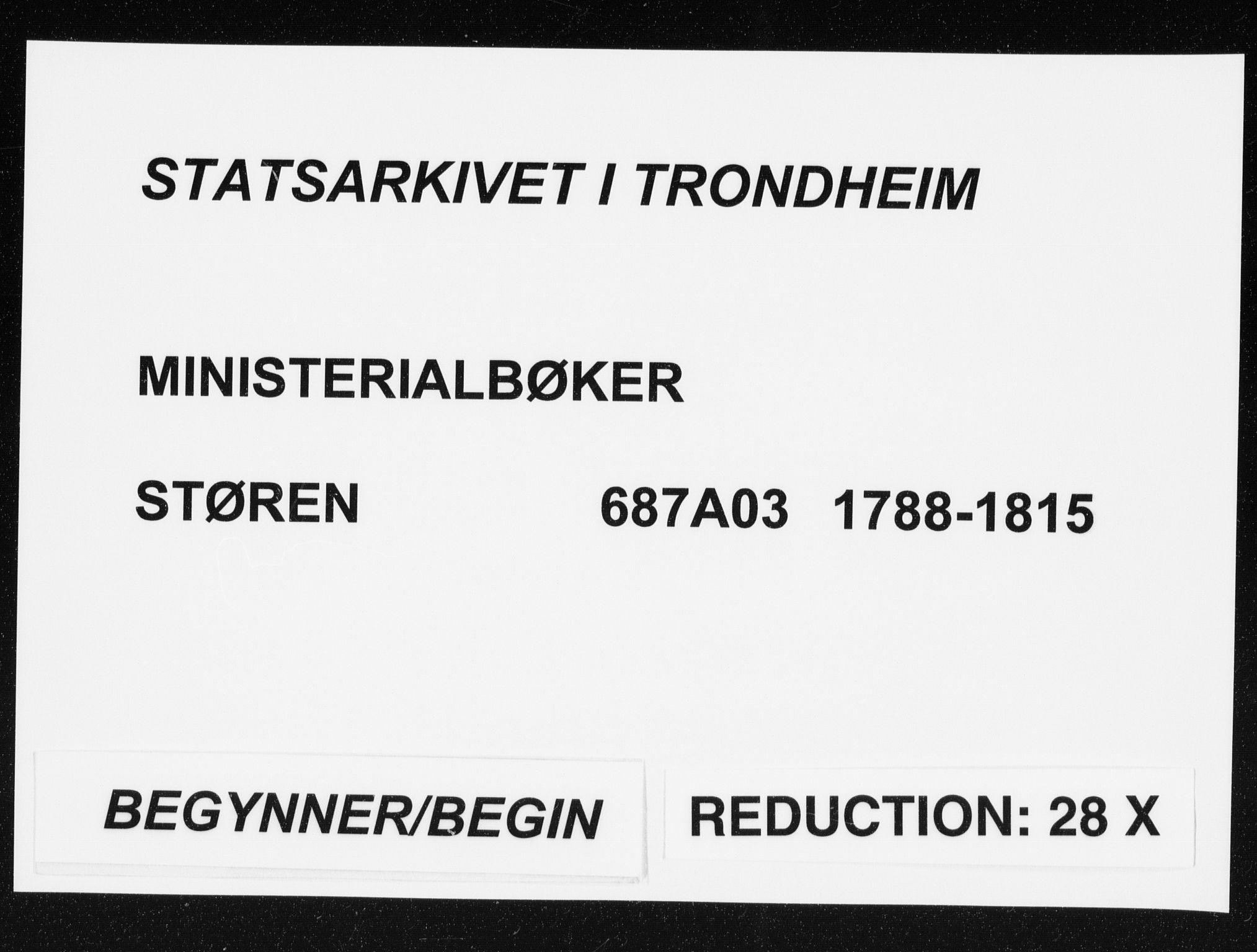 SAT, Ministerialprotokoller, klokkerbøker og fødselsregistre - Sør-Trøndelag, 687/L0994: Parish register (official) no. 687A03 /3, 1788-1815