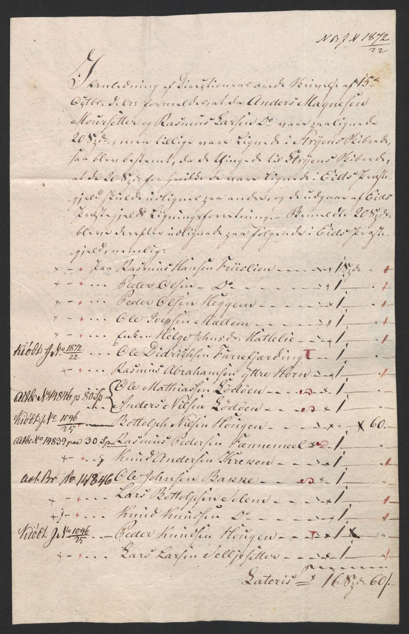 NOBA, Norges Bank/Sølvskatten 1816*, 1816-1828, p. 34
