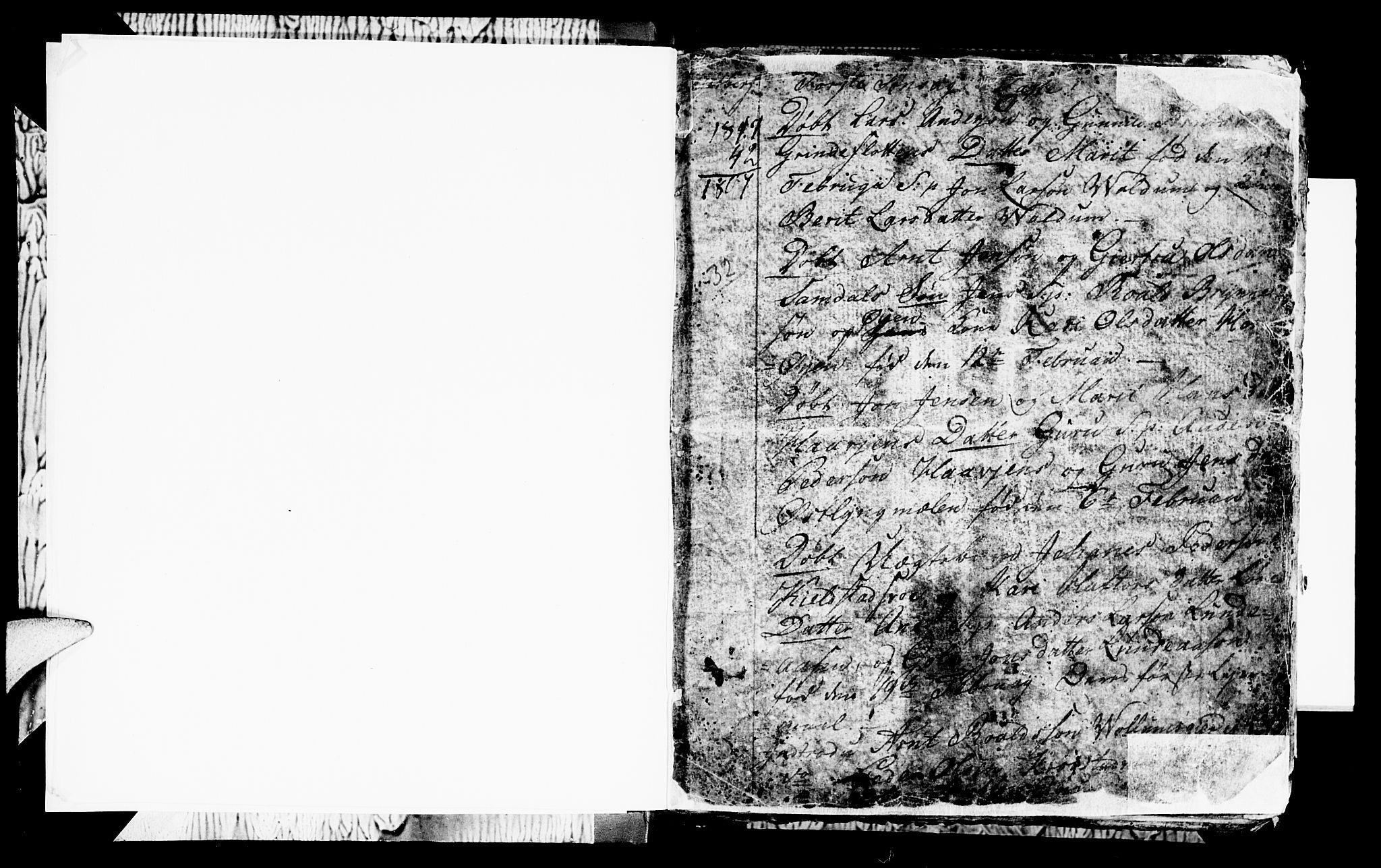SAT, Ministerialprotokoller, klokkerbøker og fødselsregistre - Sør-Trøndelag, 692/L1107: Parish register (copy) no. 692C02, 1809-1824