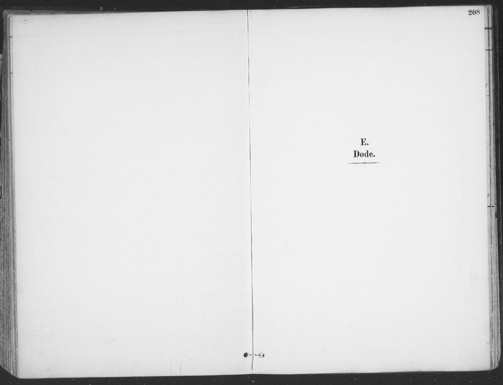 SATØ, Vadsø sokneprestkontor, H/Ha/L0007kirke: Parish register (official) no. 7, 1896-1916, p. 208