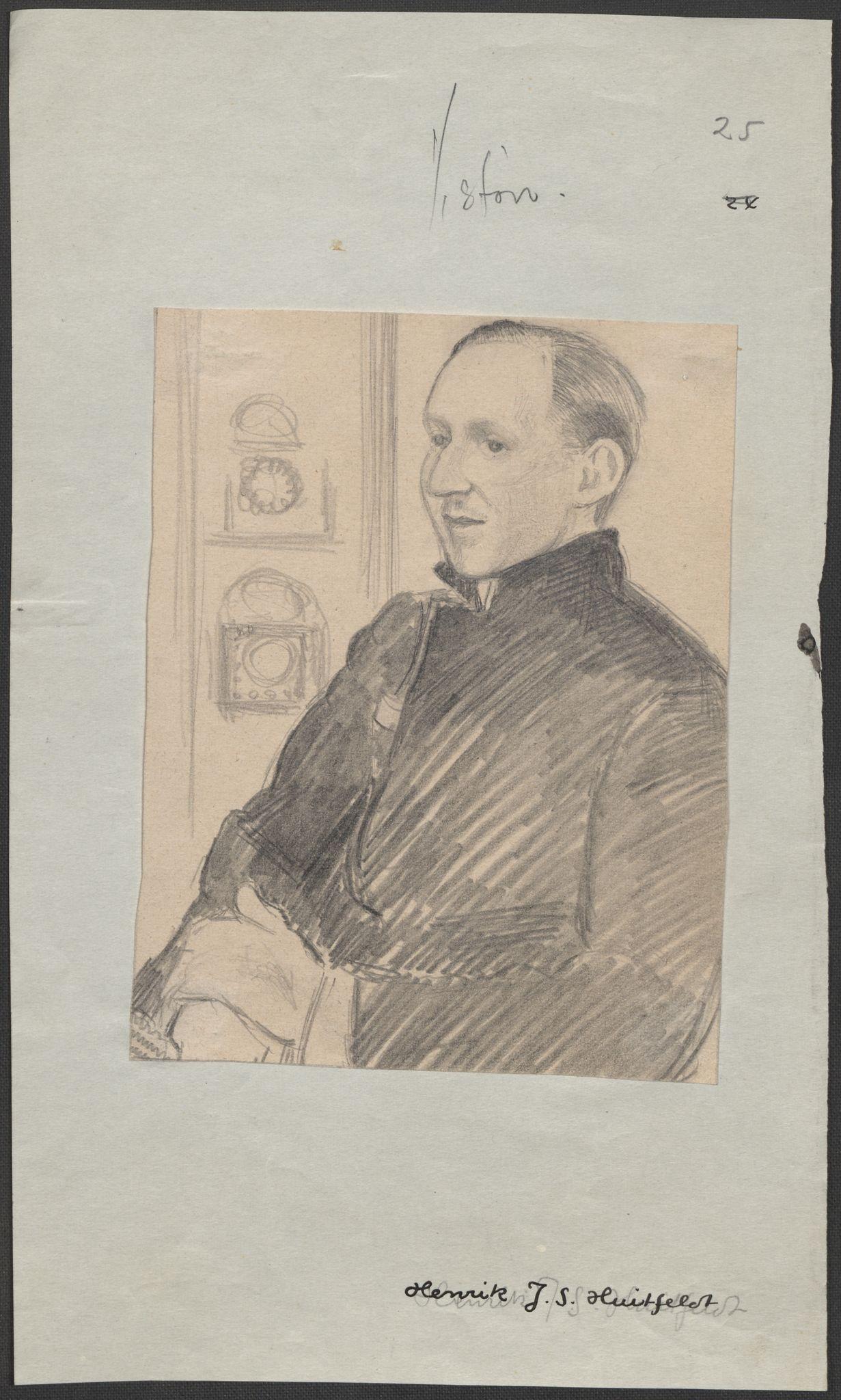 RA, Grøgaard, Joachim, F/L0002: Tegninger og tekster, 1942-1945, p. 70