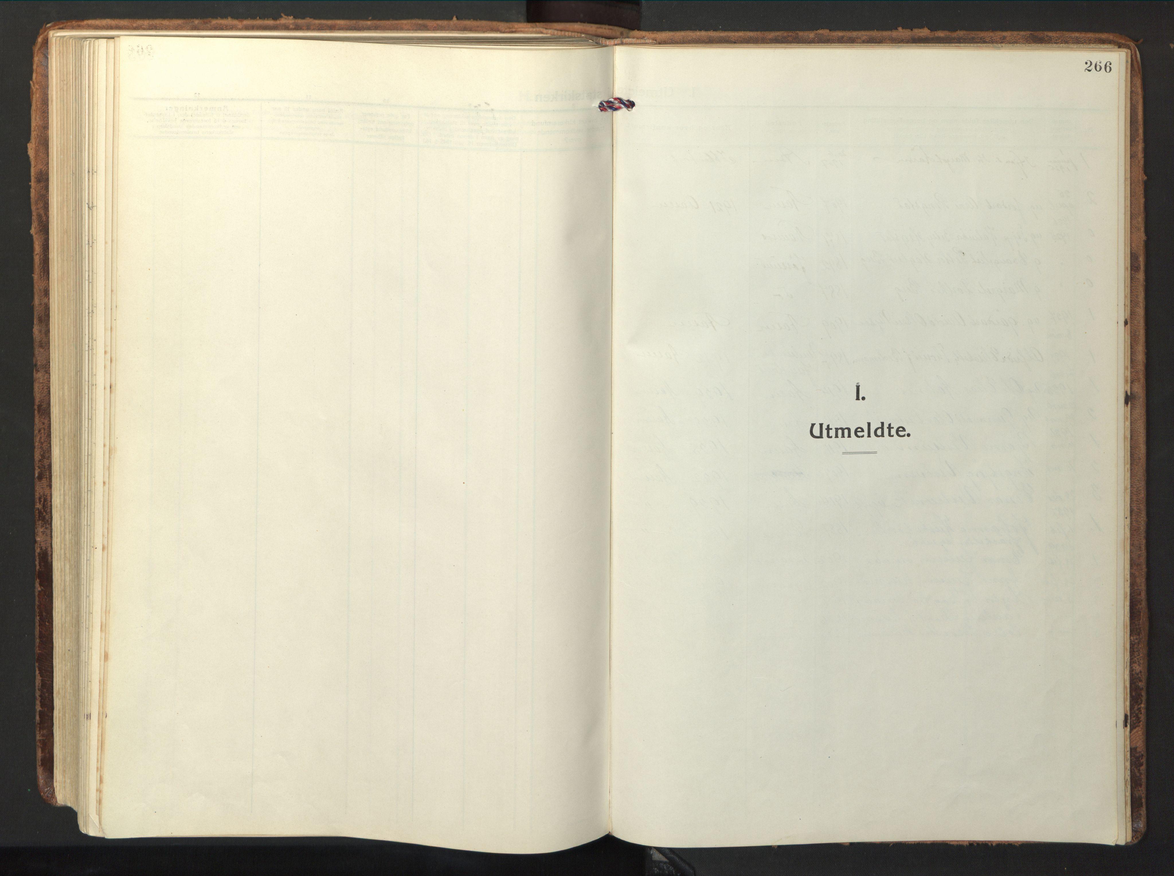 SAT, Ministerialprotokoller, klokkerbøker og fødselsregistre - Nord-Trøndelag, 714/L0136: Parish register (copy) no. 714C05, 1918-1957, p. 266