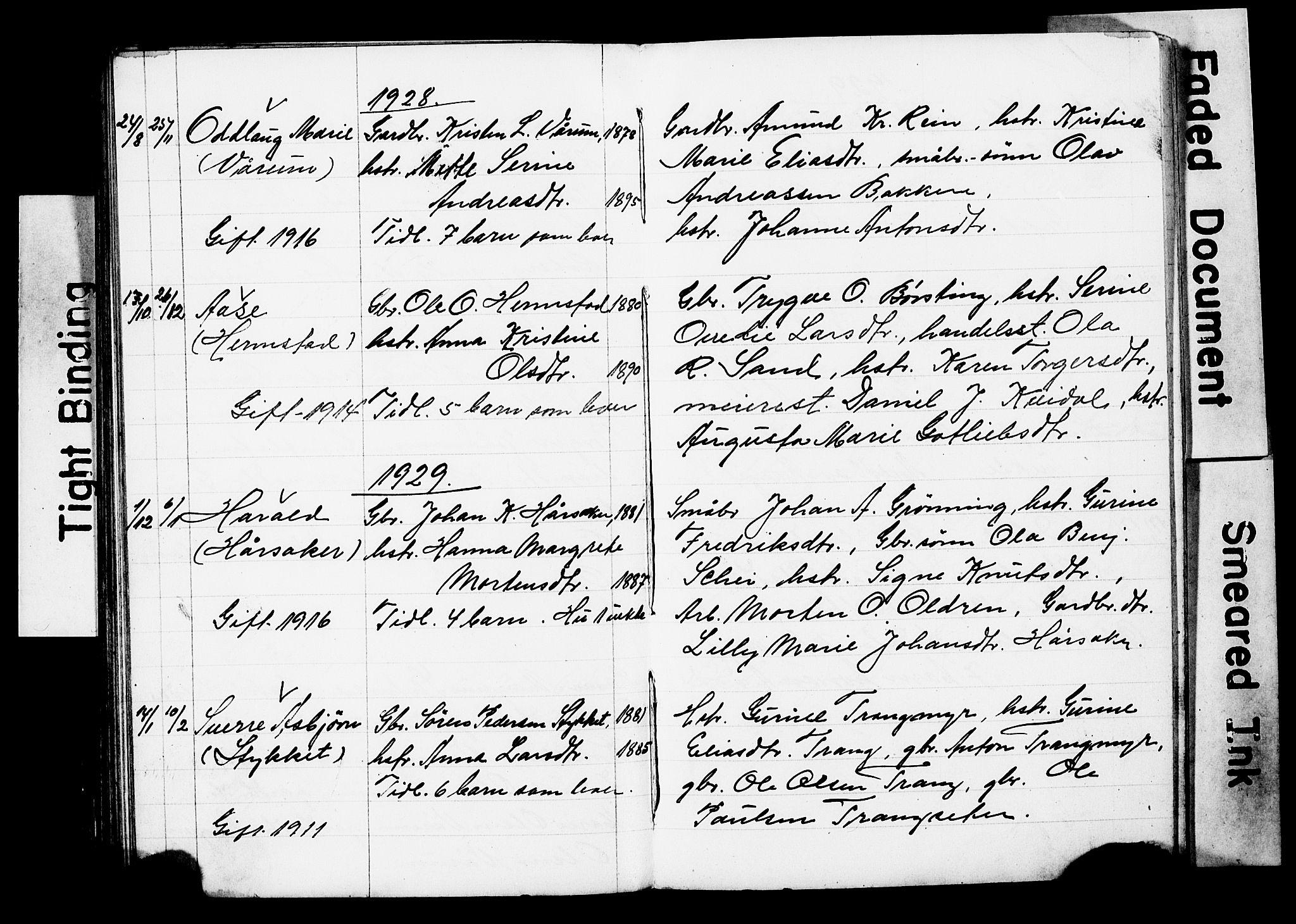 SAT, Ministerialprotokoller, klokkerbøker og fødselsregistre - Sør-Trøndelag, 646/L0631: Parish register (copy) no. 646C04, 1917-1930