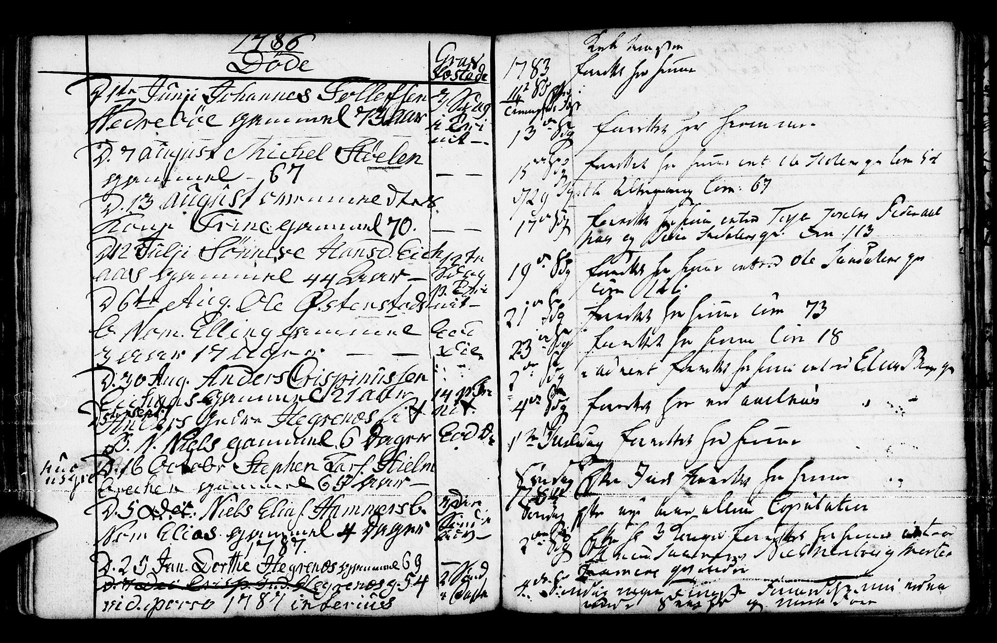 SAB, Jølster Sokneprestembete, Parish register (official) no. A 3, 1748-1789, p. 197