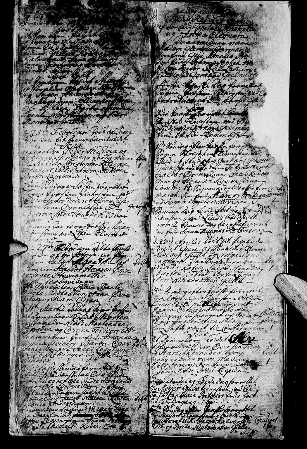 SAB, Os sokneprestembete*, Parish register (official) no. A 2, 1723-1758, p. 123