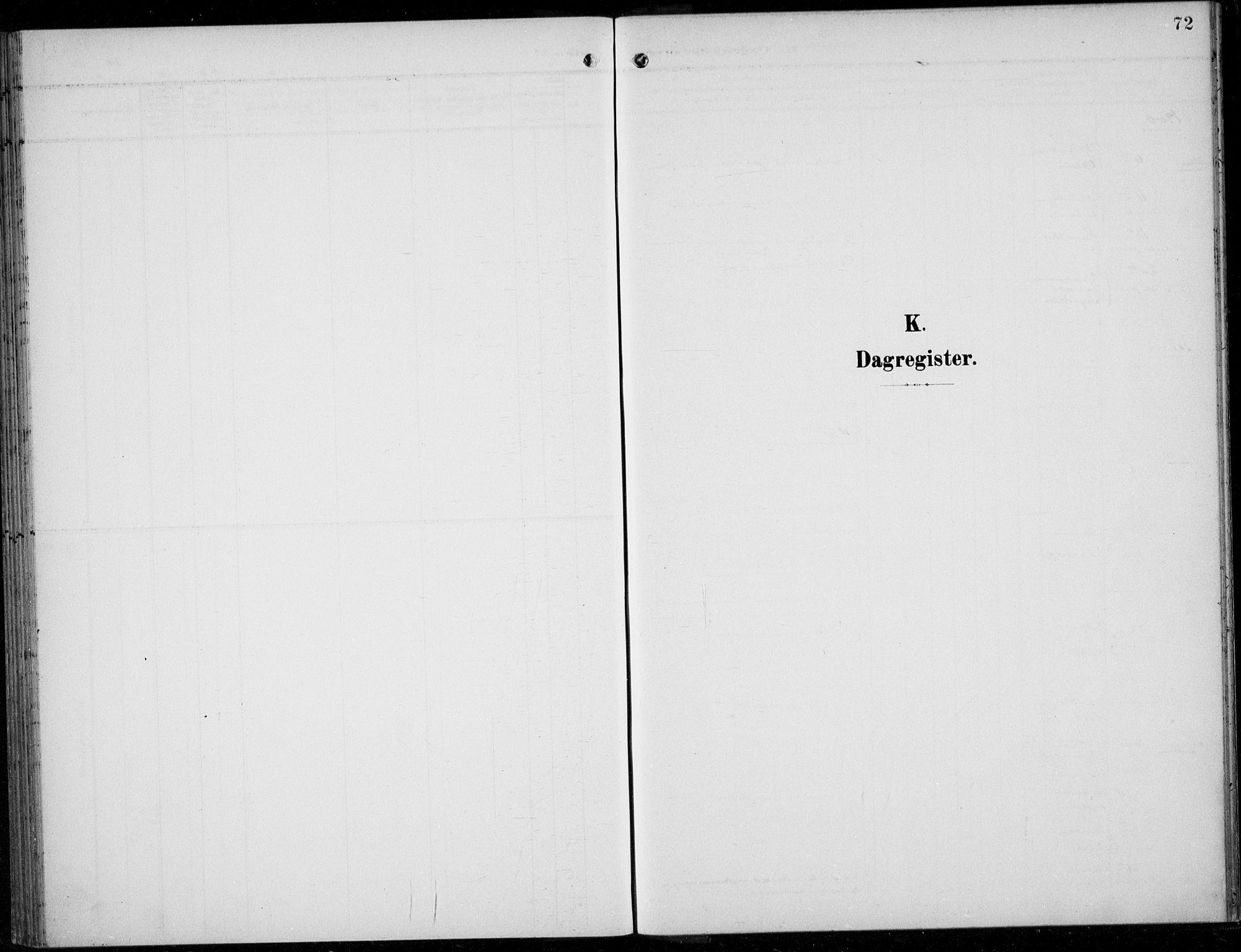 SAB, Parish register (official) no. A  1, 1900-1939, p. 72