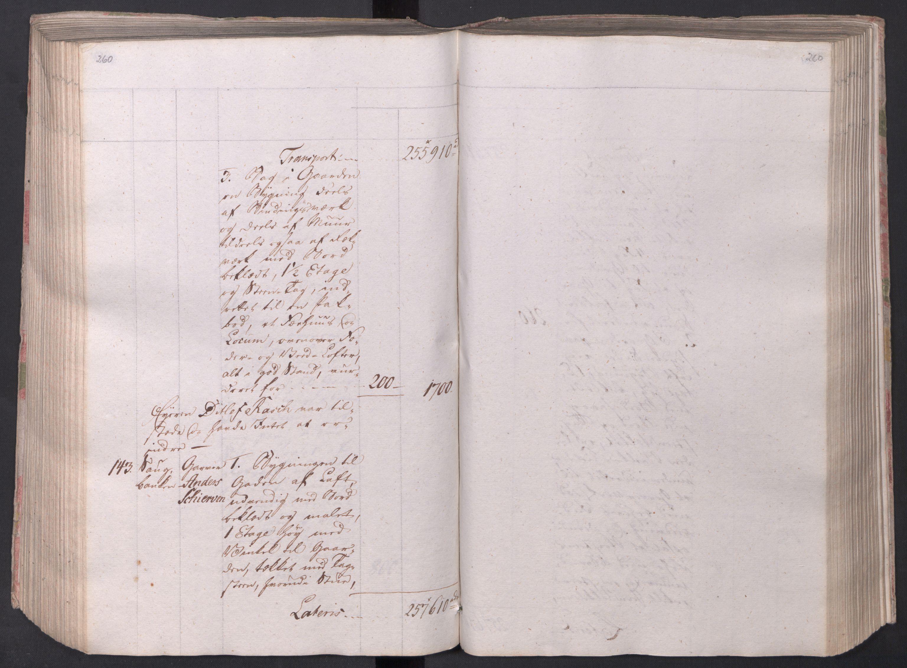 SAO, Kristiania stiftamt, I/Ia/L0015: Branntakster, 1797, p. 260