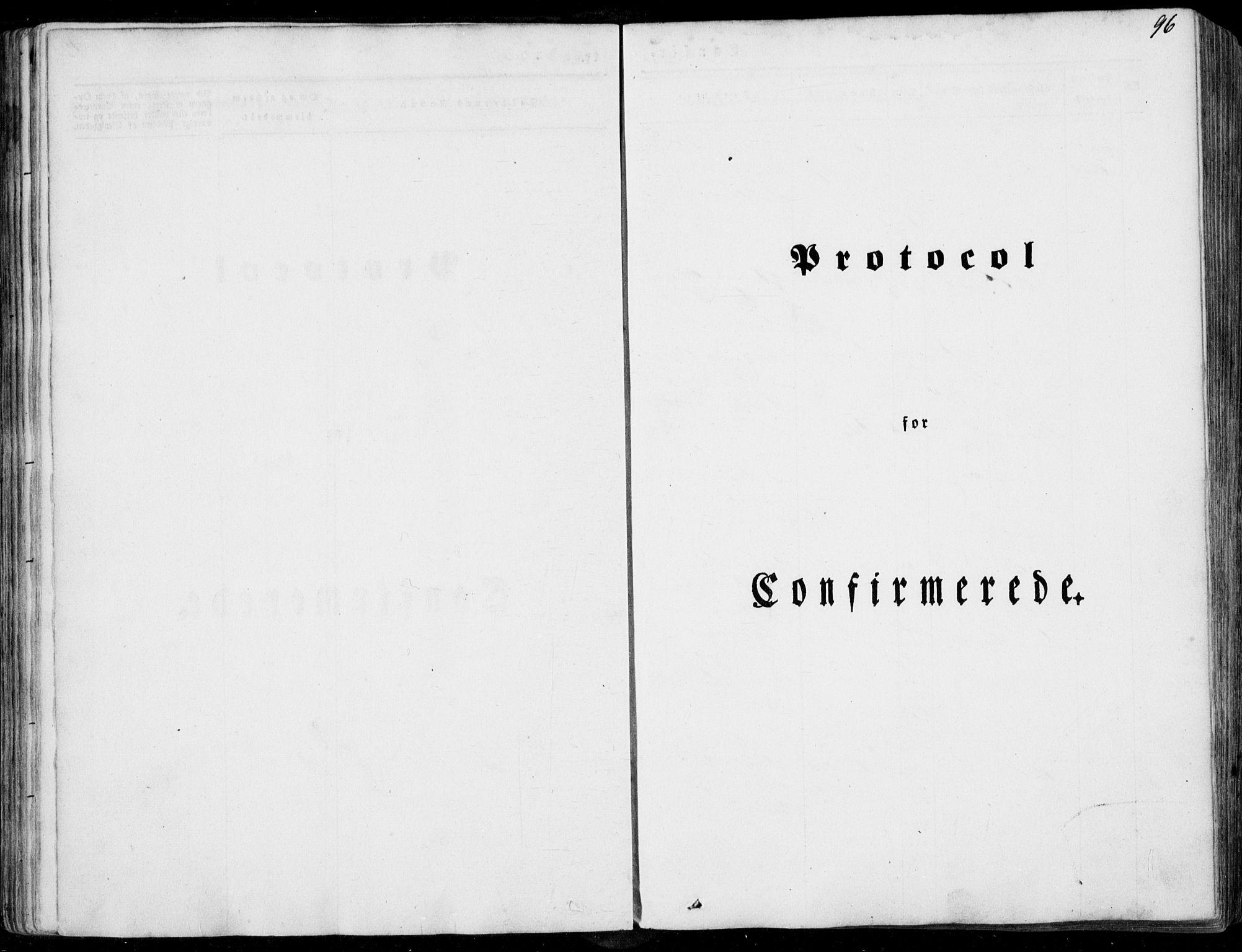 SAT, Ministerialprotokoller, klokkerbøker og fødselsregistre - Møre og Romsdal, 536/L0497: Parish register (official) no. 536A06, 1845-1865, p. 96