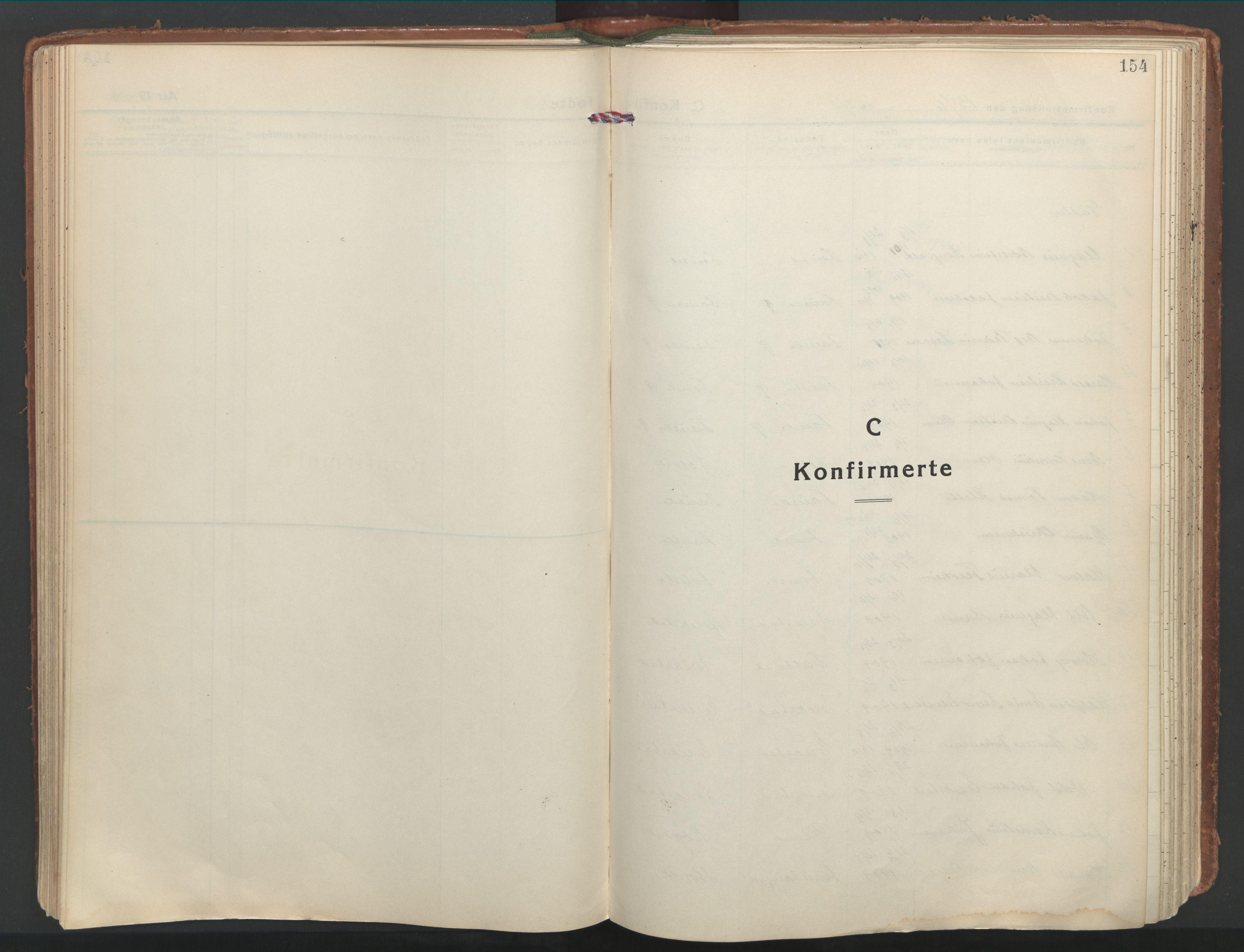 SAT, Ministerialprotokoller, klokkerbøker og fødselsregistre - Nordland, 849/L0699: Parish register (official) no. 849A10, 1924-1937, p. 154