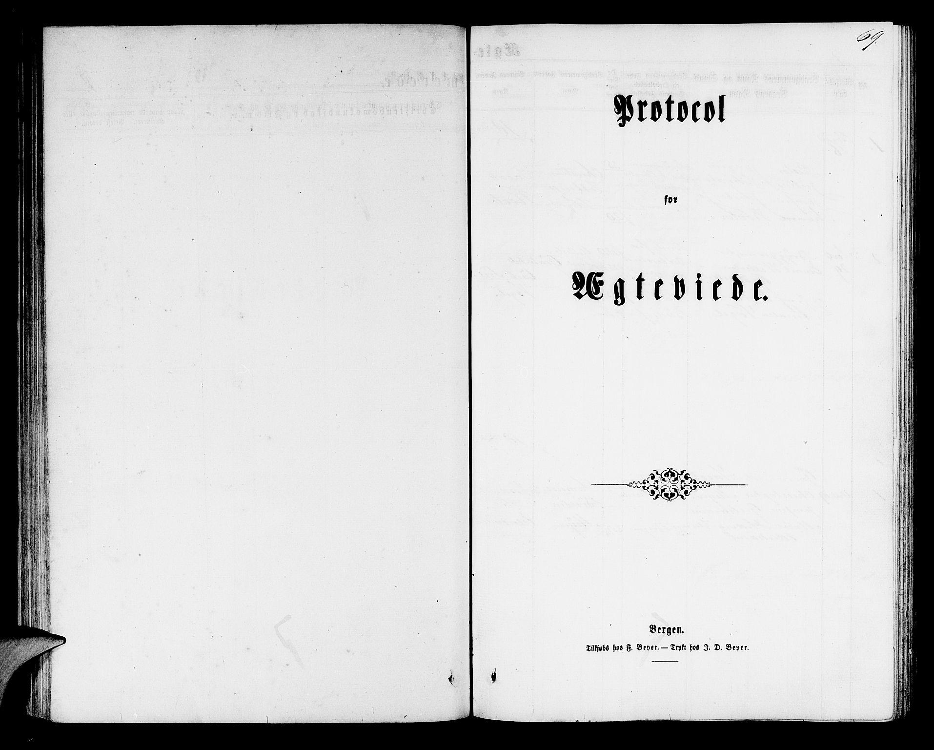 SAB, Mariakirken Sokneprestembete, H/Hab/L0003: Parish register (copy) no. A 3, 1862-1877, p. 69