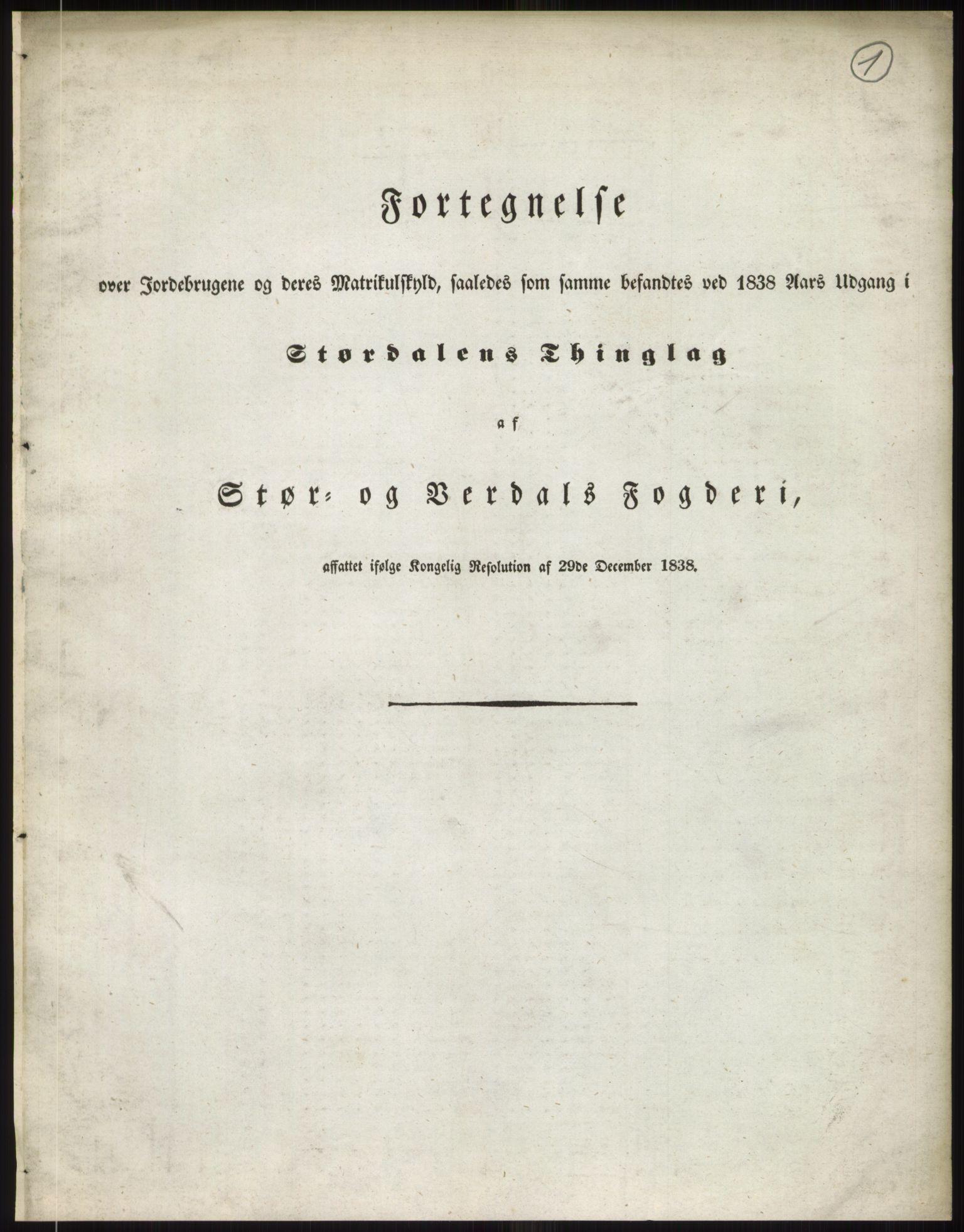 RA, 1838-matrikkelen (publikasjon)*, 1838, p. 2