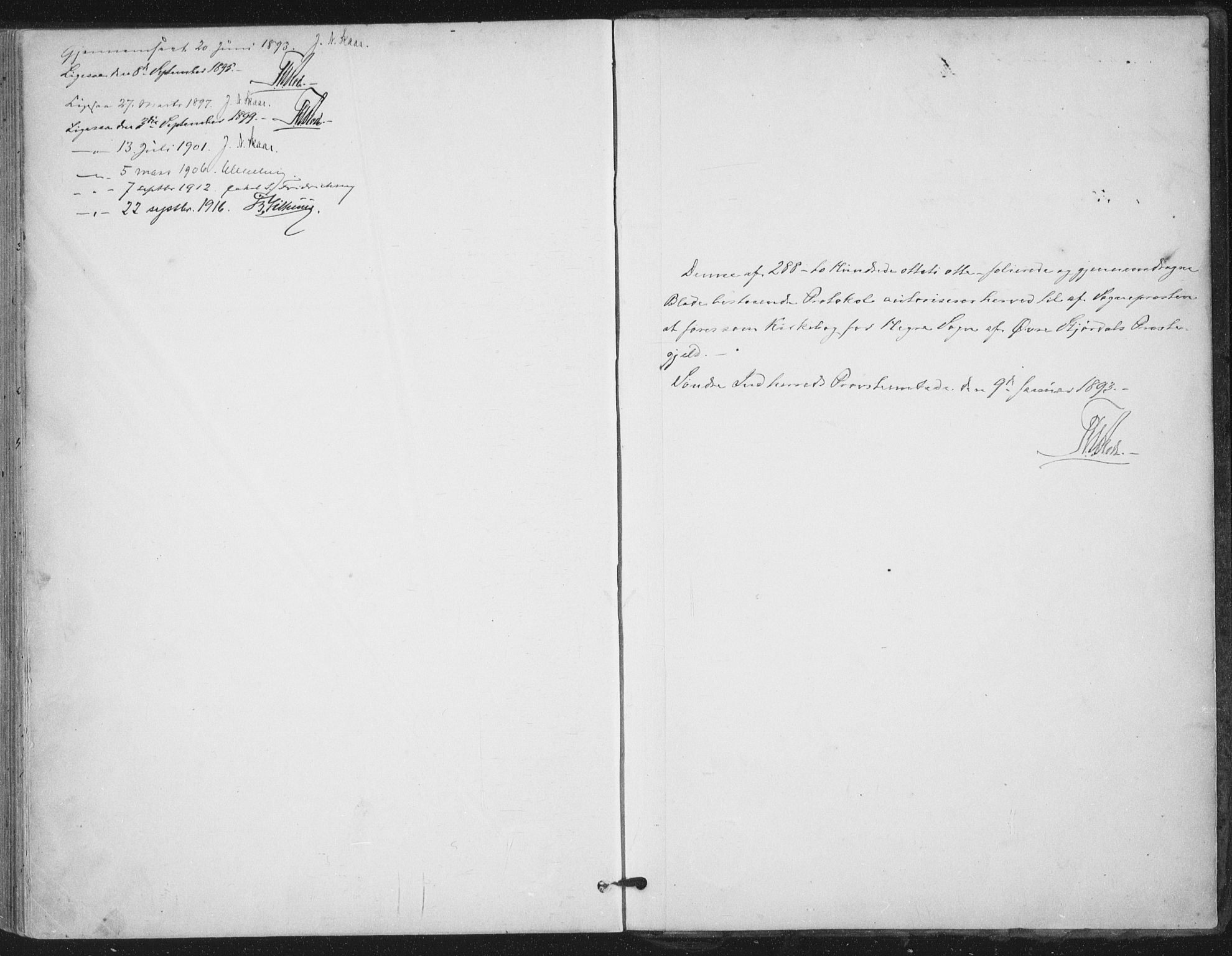 SAT, Ministerialprotokoller, klokkerbøker og fødselsregistre - Nord-Trøndelag, 703/L0031: Parish register (official) no. 703A04, 1893-1914