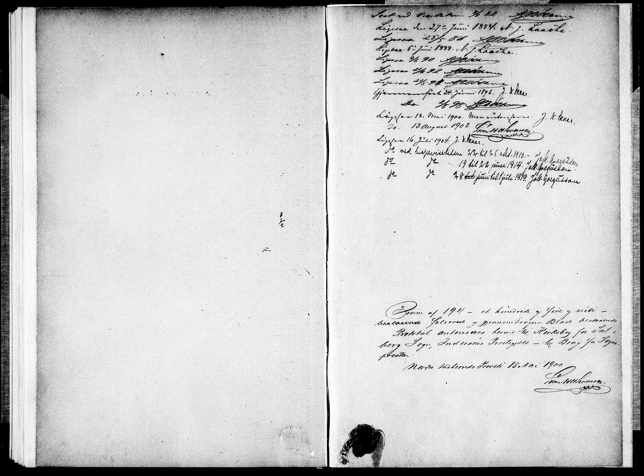 SAT, Ministerialprotokoller, klokkerbøker og fødselsregistre - Nord-Trøndelag, 731/L0309: Parish register (official) no. 731A01, 1879-1918