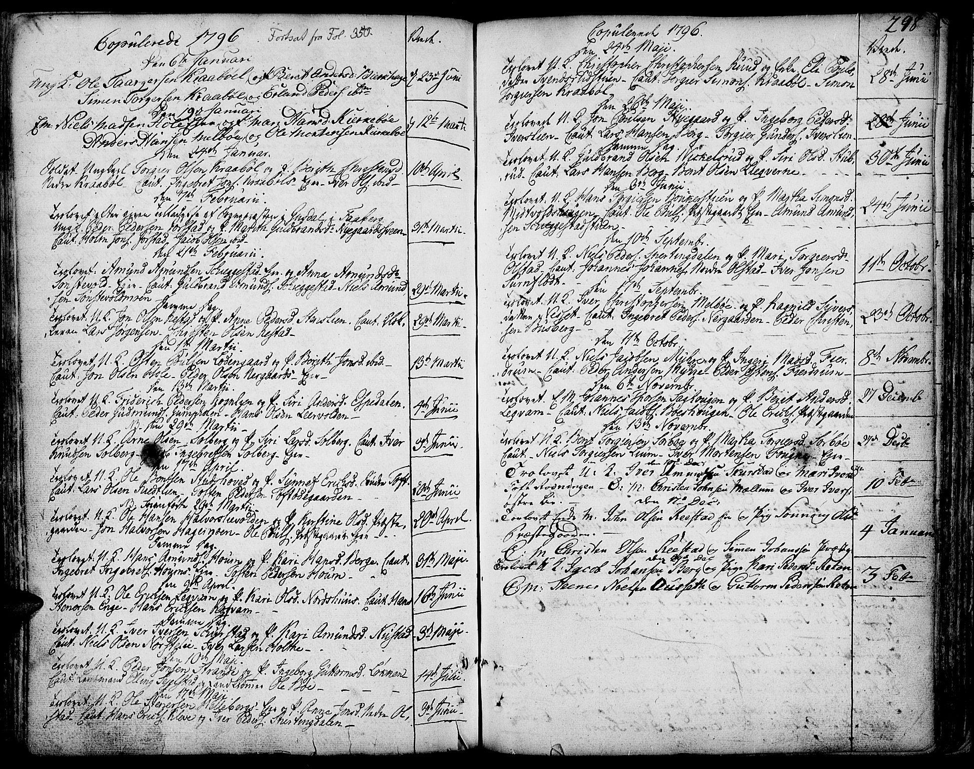 SAH, Gausdal prestekontor, Parish register (official) no. 3, 1758-1809, p. 298