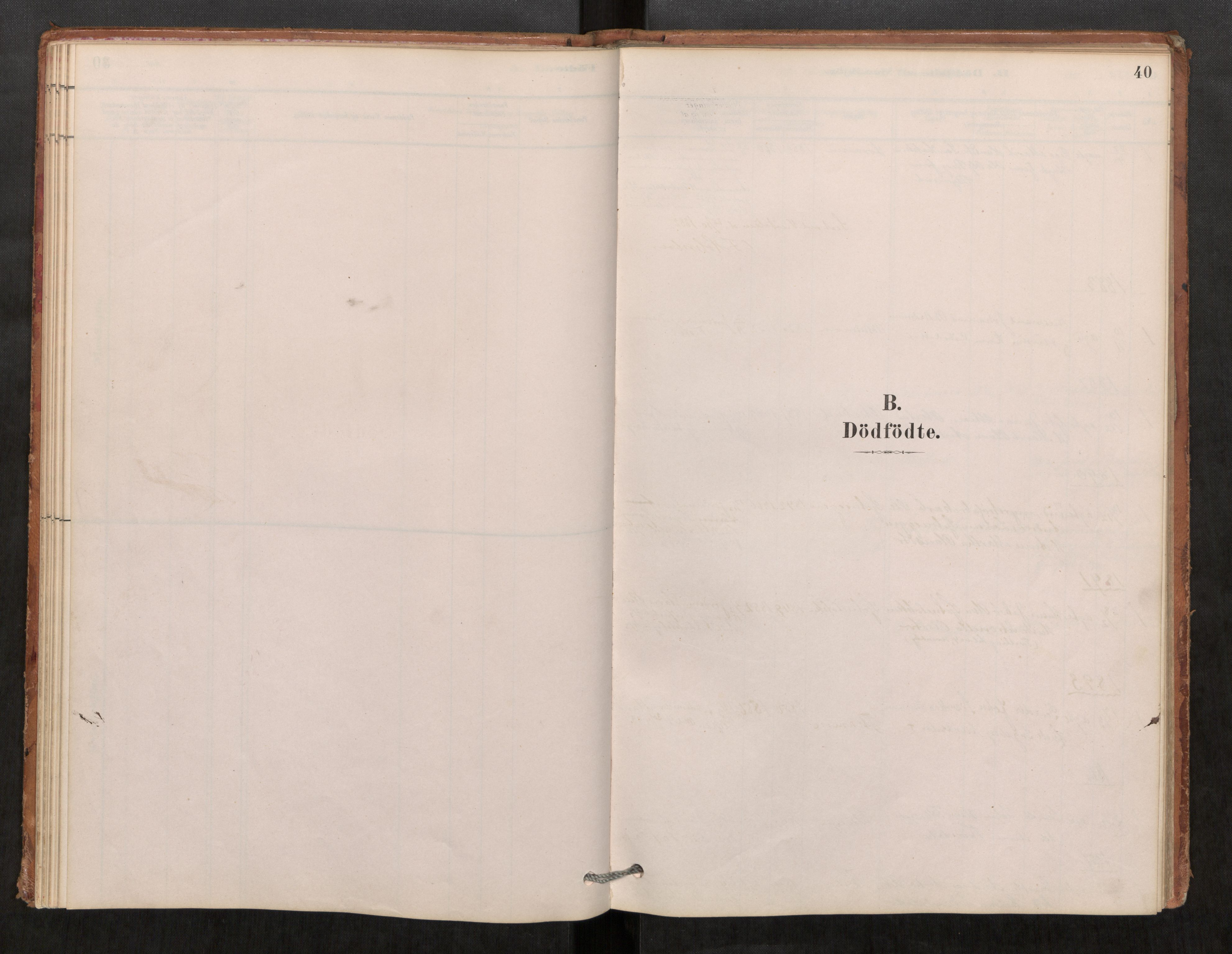 SAT, Klæbu sokneprestkontor, Parish register (official) no. 1, 1880-1900, p. 40