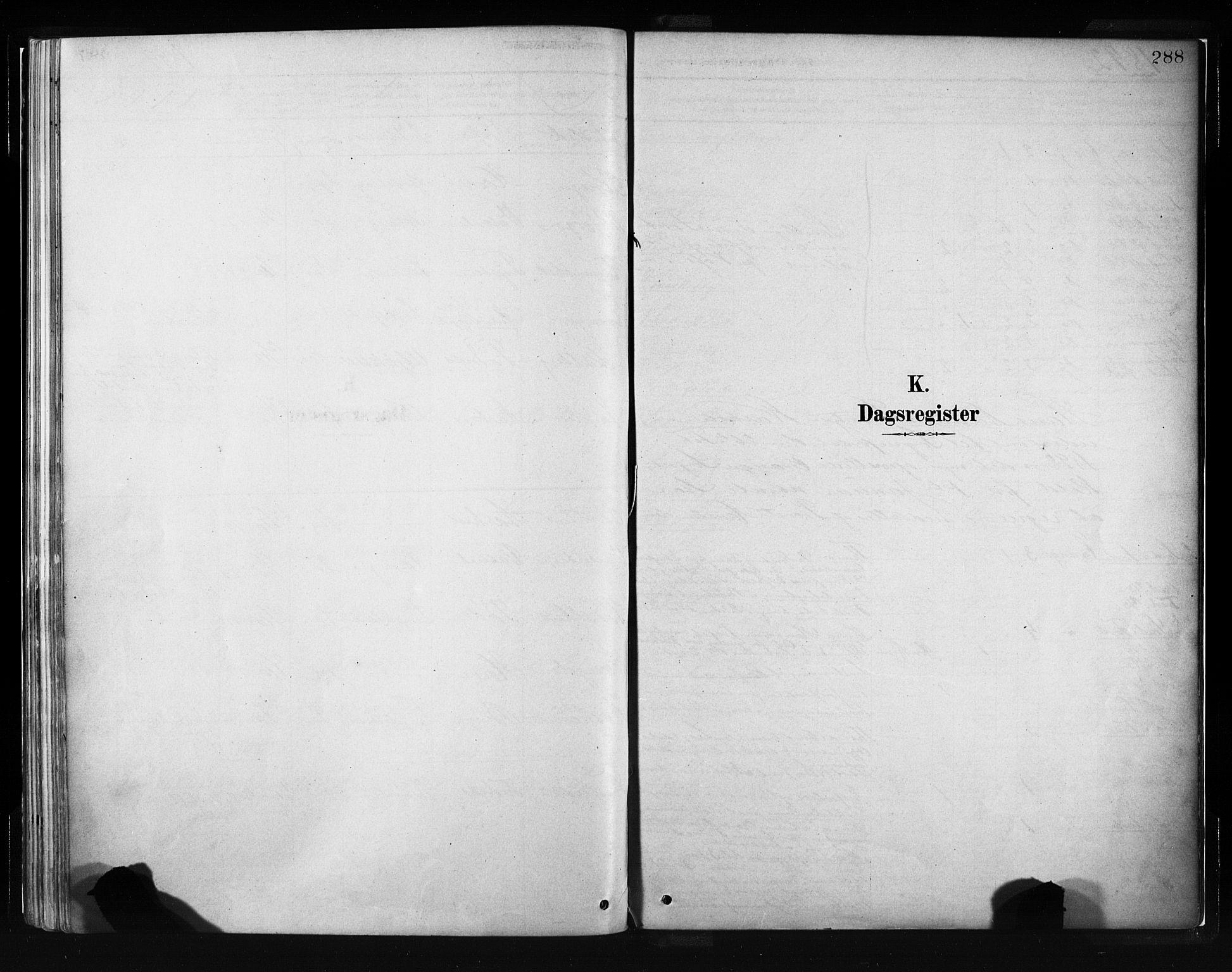 SAB, Evanger sokneprestembete*, Parish register (official) no. A 1, 1877-1899, p. 288