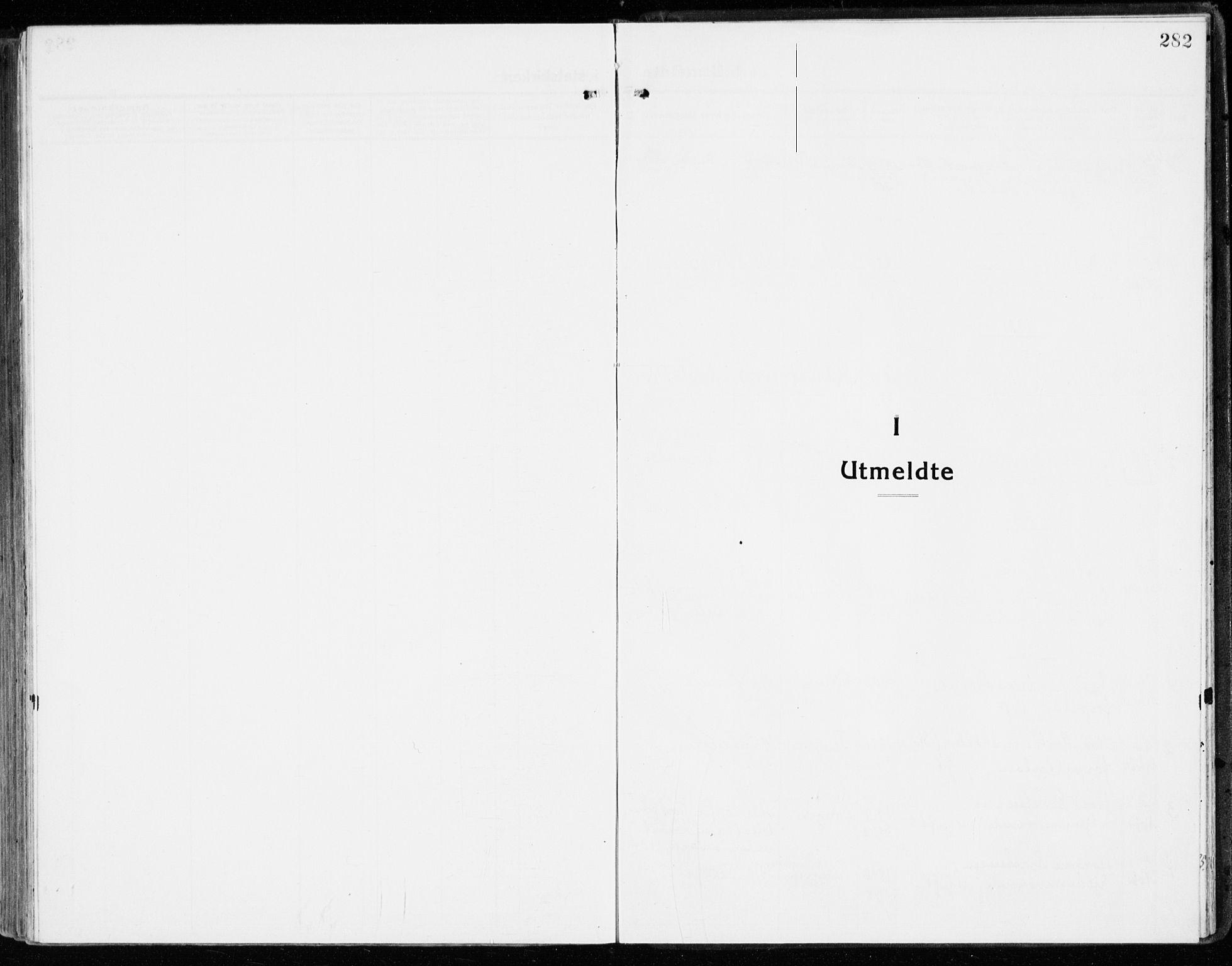 SAH, Stange prestekontor, K/L0025: Parish register (official) no. 25, 1921-1945, p. 282