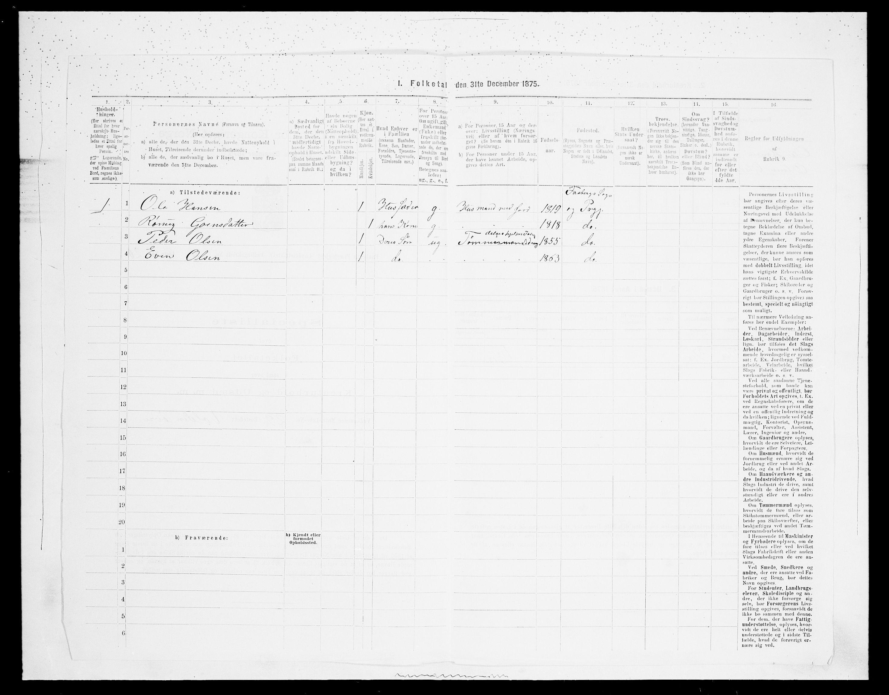 SAH, 1875 census for 0524L Fåberg/Fåberg og Lillehammer, 1875, p. 532