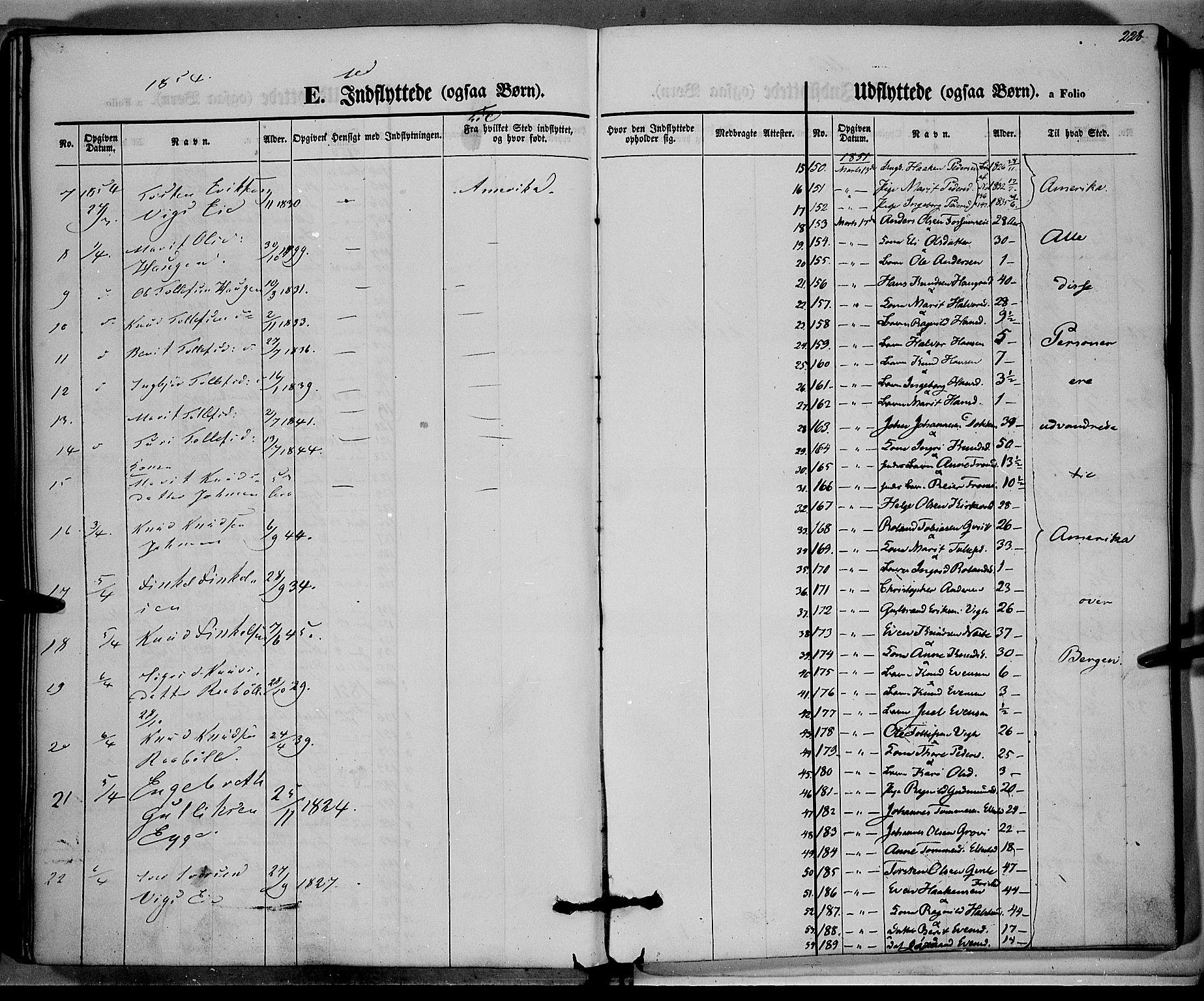 SAH, Vestre Slidre prestekontor, Parish register (official) no. 1, 1844-1855, p. 228