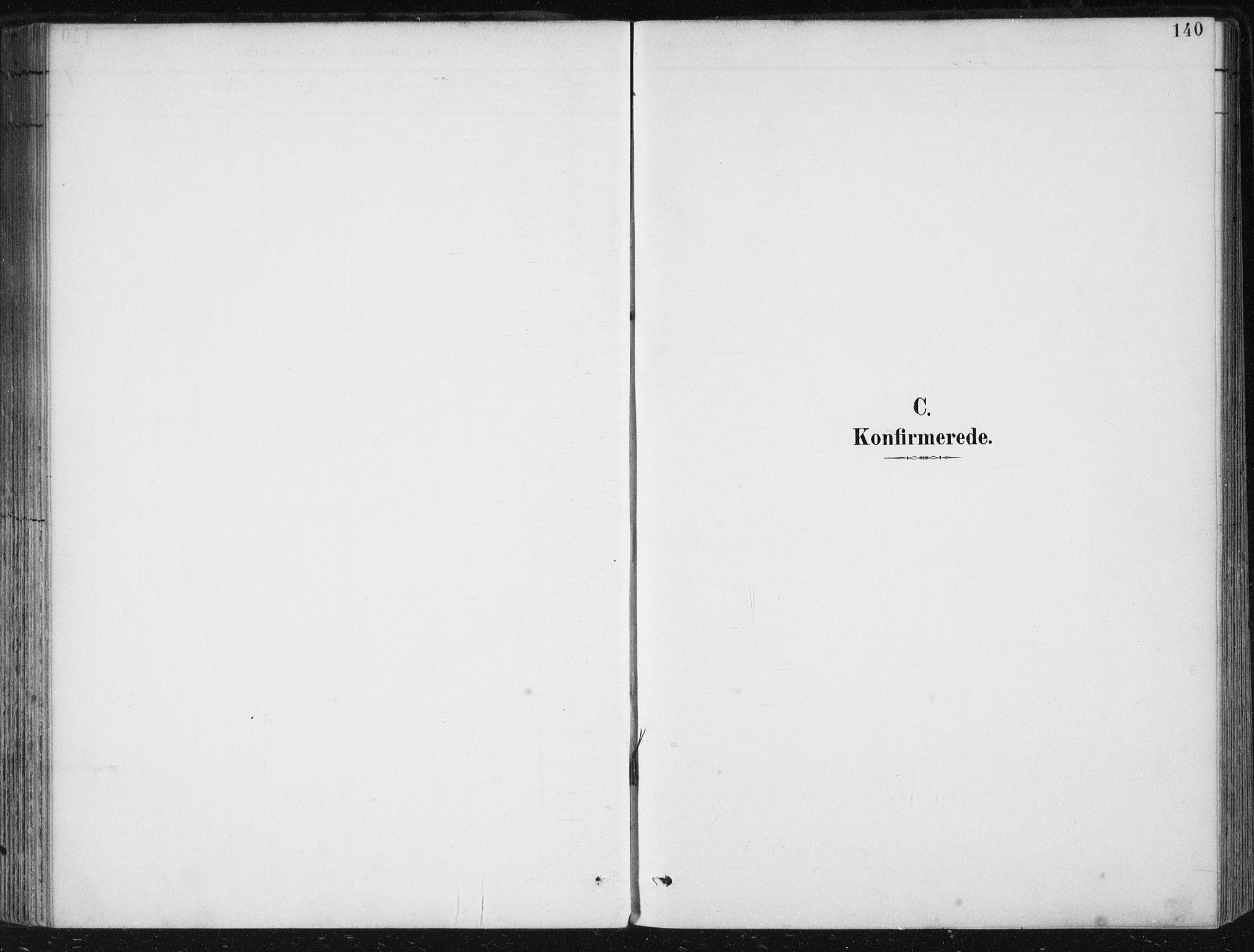 SAB, Herdla Sokneprestembete, H/Haa: Parish register (official) no. A 4, 1891-1905, p. 140