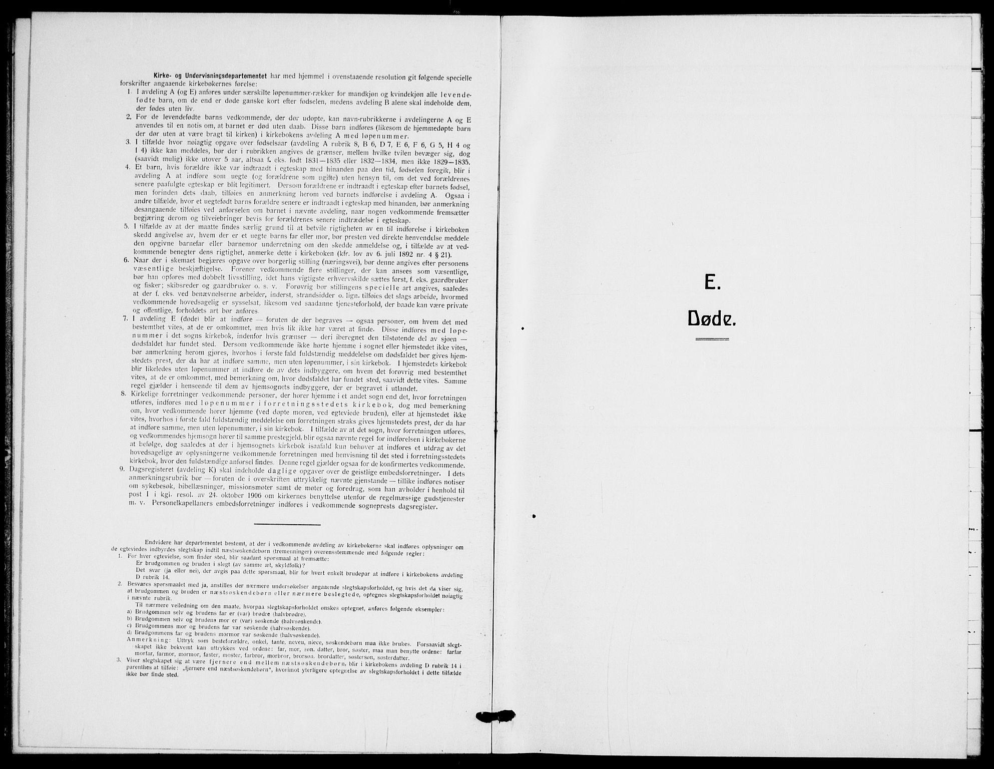 SAO, Gamle Aker prestekontor Kirkebøker, F/L0016: Parish register (official) no. 16, 1919-1931