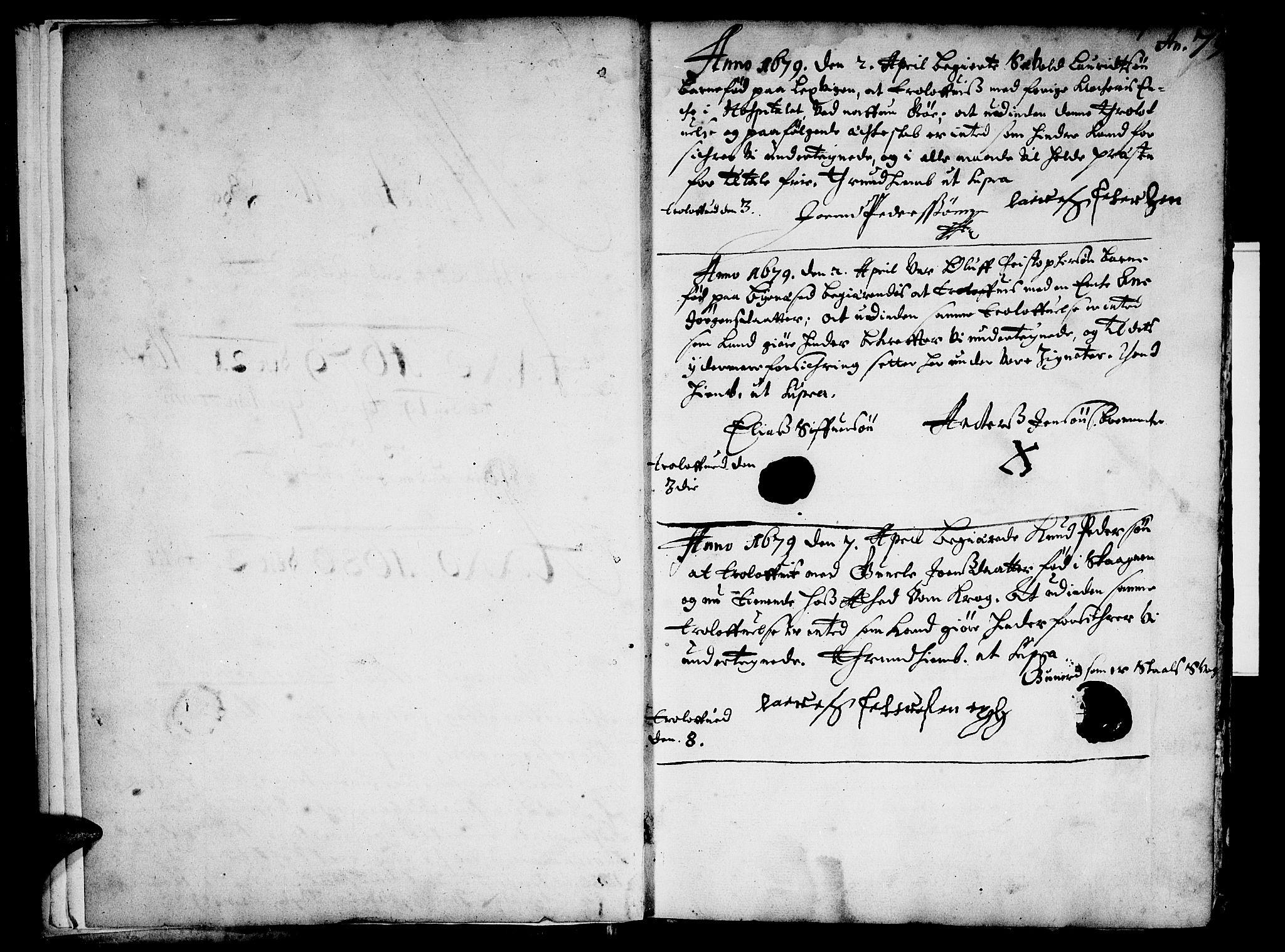 SAT, Ministerialprotokoller, klokkerbøker og fødselsregistre - Sør-Trøndelag, 601/L0033: Parish register (official) no. 601A01, 1679-1728