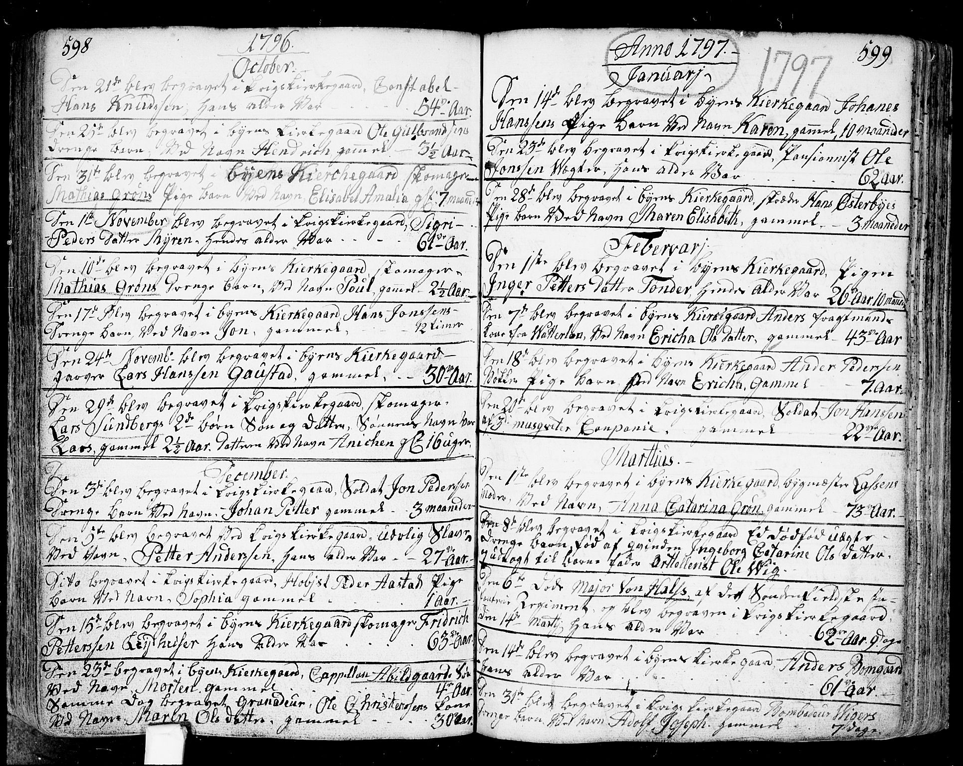 SAO, Fredrikstad prestekontor Kirkebøker, F/Fa/L0002: Parish register (official) no. 2, 1750-1804, p. 598-599