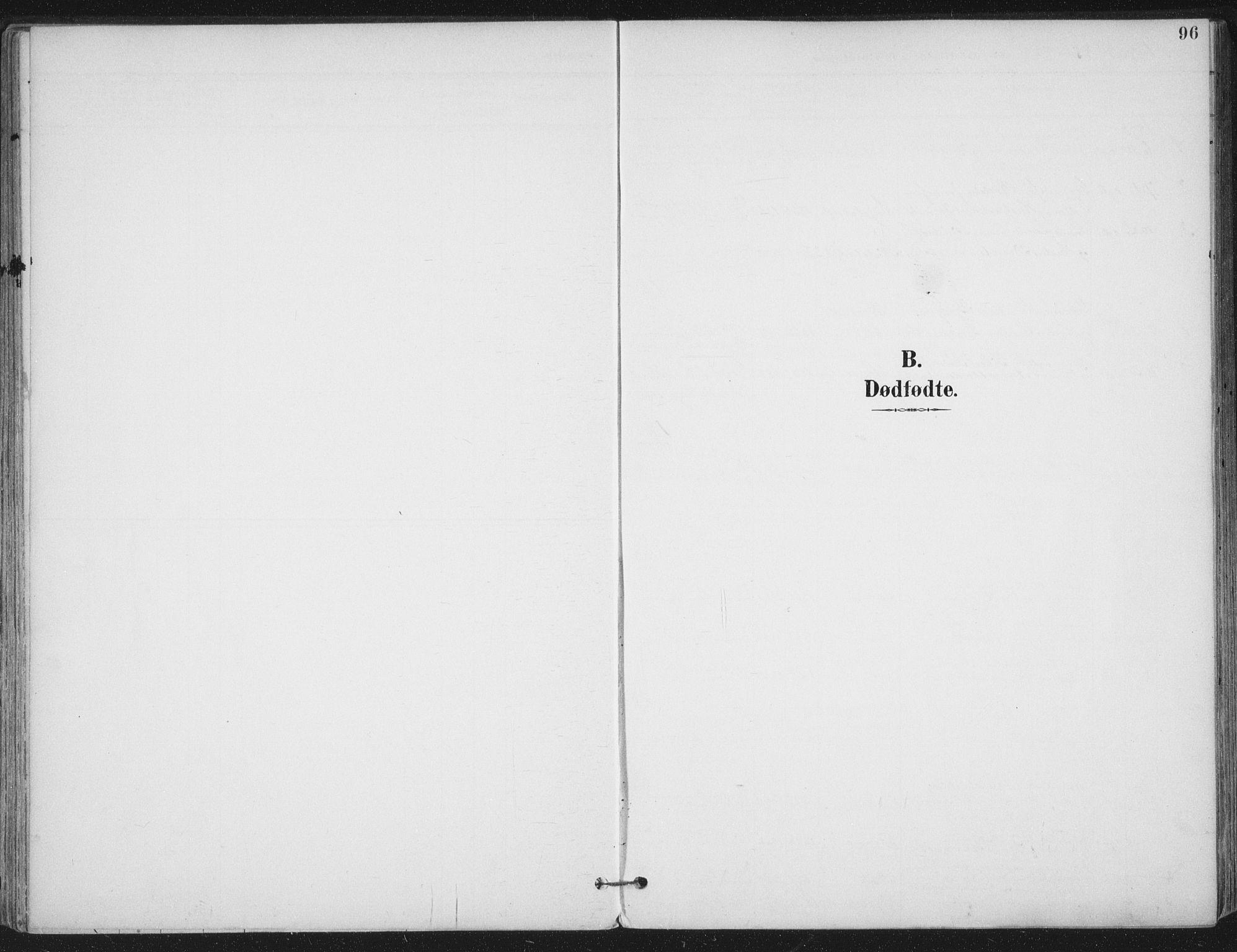SAT, Ministerialprotokoller, klokkerbøker og fødselsregistre - Nord-Trøndelag, 703/L0031: Parish register (official) no. 703A04, 1893-1914, p. 96