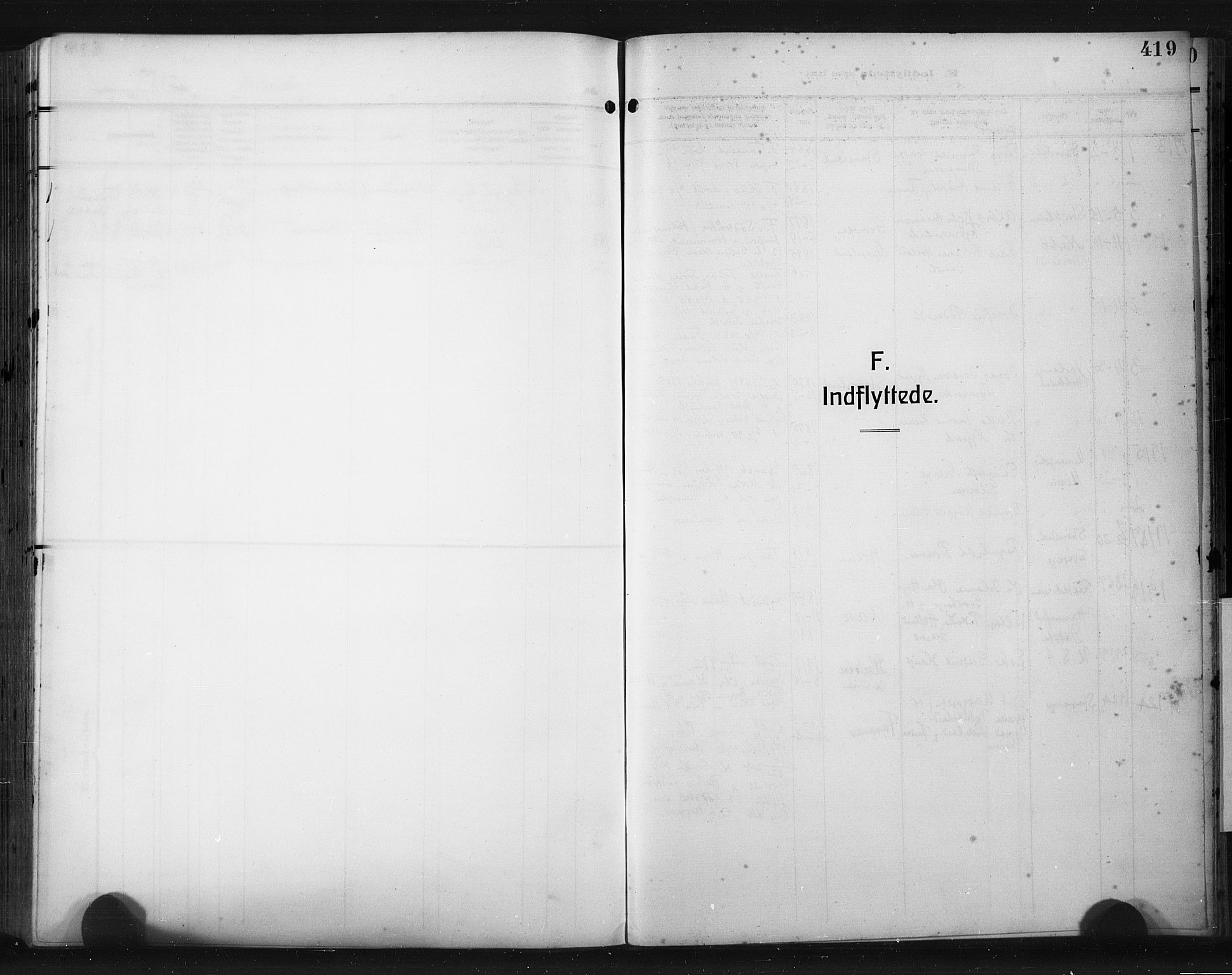 SAST, Høyland sokneprestkontor, 30BA/L0017: Parish register (official) no. A 15, 1912-1924, p. 419