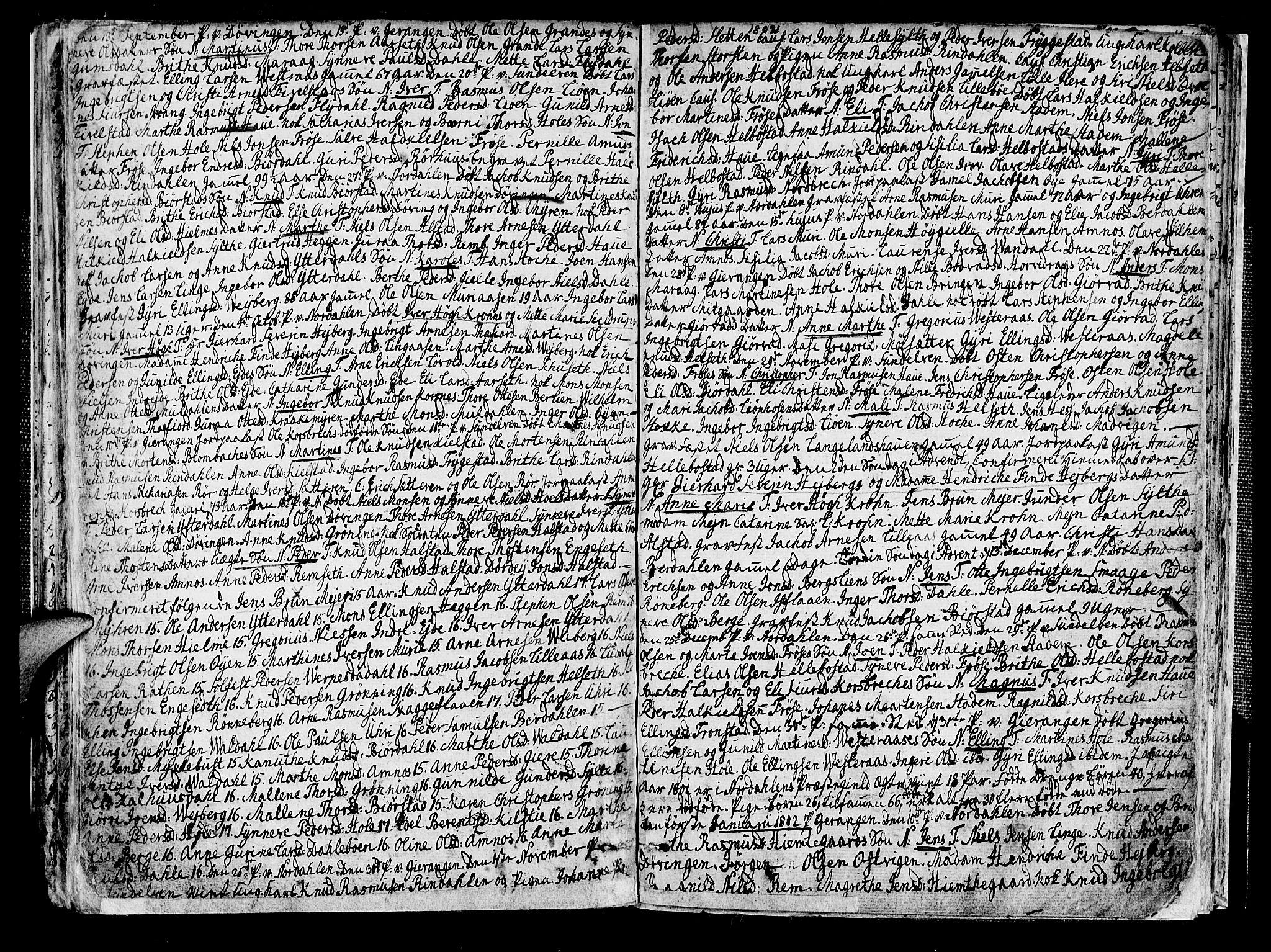 SAT, Ministerialprotokoller, klokkerbøker og fødselsregistre - Møre og Romsdal, 519/L0245: Parish register (official) no. 519A04, 1774-1816, p. 110