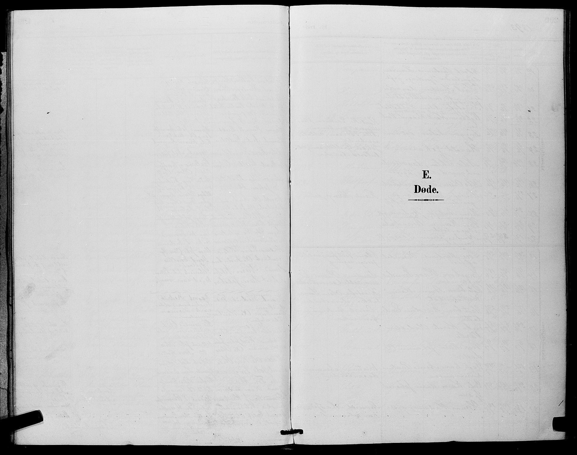 SAKO, Eiker kirkebøker, G/Ga/L0007: Parish register (copy) no. I 7, 1893-1902