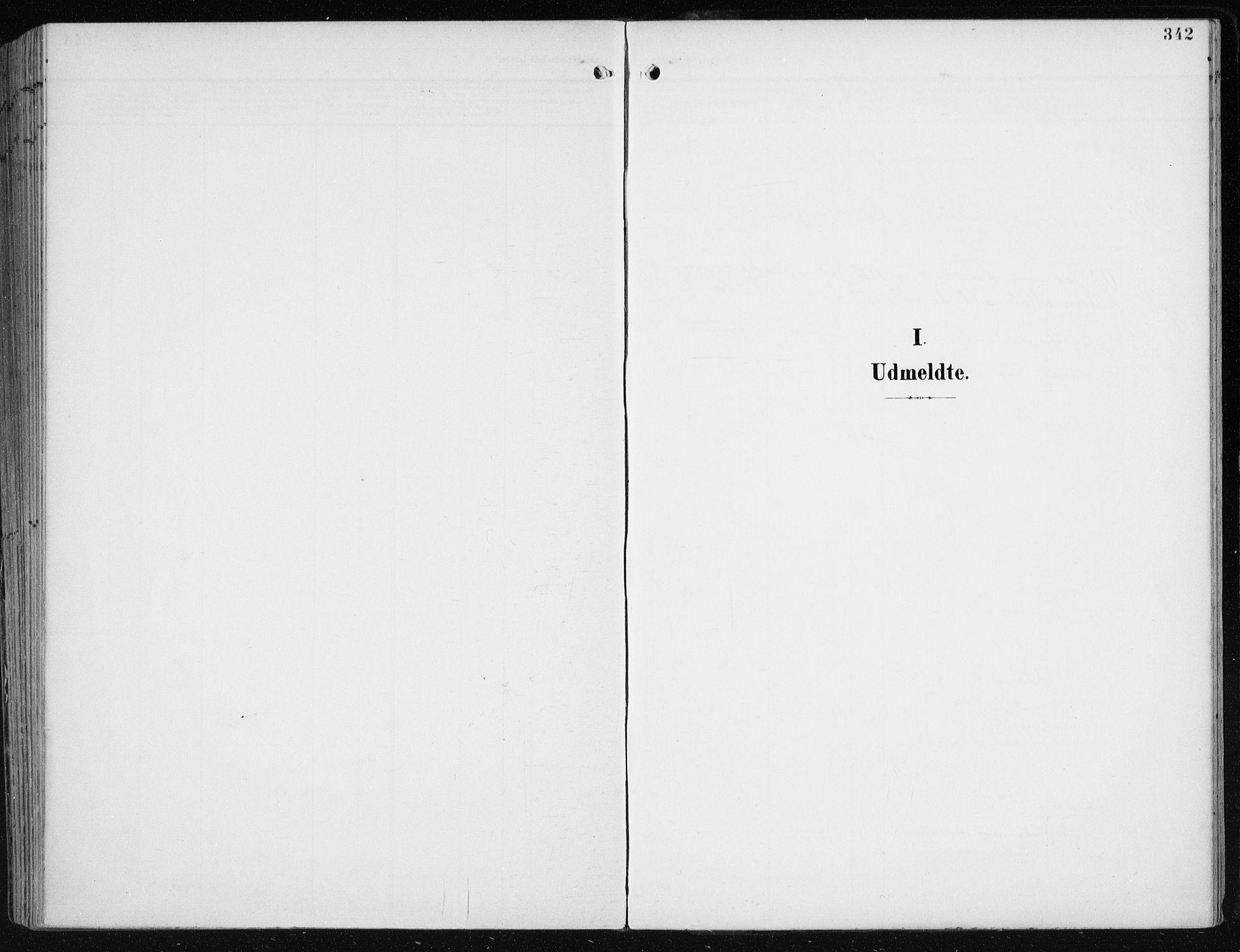 SAB, Evanger sokneprestembete*, Parish register (official) no. A  3, 1900-1930, p. 342