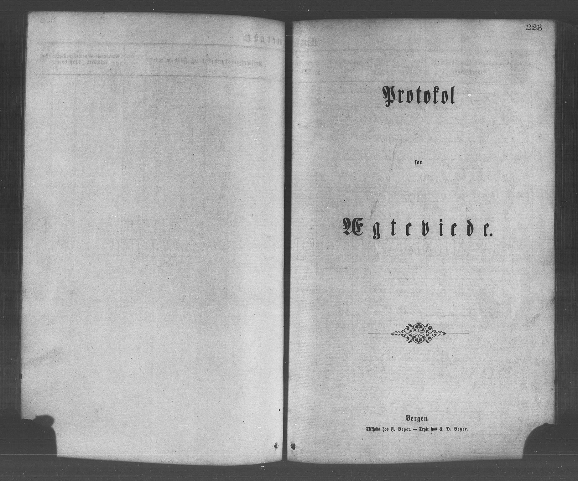SAB, Os sokneprestembete*, Parish register (official) no. A 18, 1874-1884, p. 223
