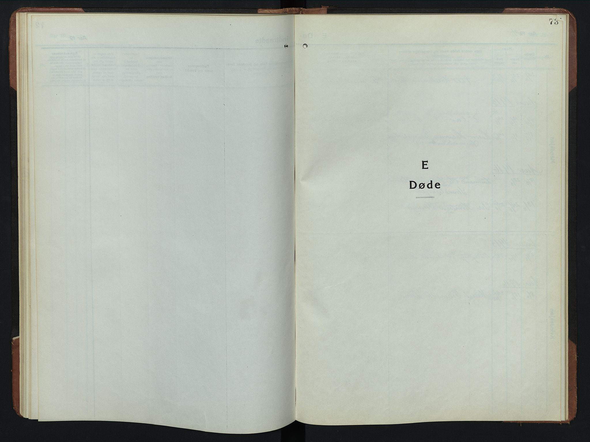 SAH, Rendalen prestekontor, H/Ha/Hab/L0008: Parish register (copy) no. 8, 1914-1948, p. 73
