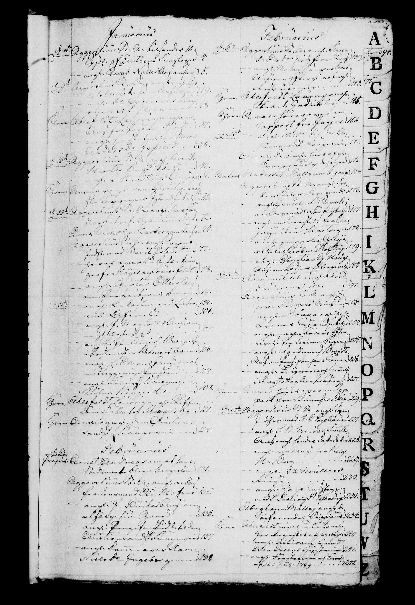RA, Danske Kanselli 1800-1814, H/Hg/Hga/Hgaa/L0005: Brevbok, 1802
