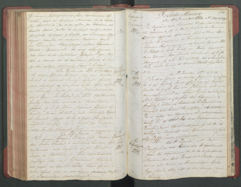 RA, Departementene i 1814, Fb/L0028: Kopibok 1-1371, 1814, p. 348-349