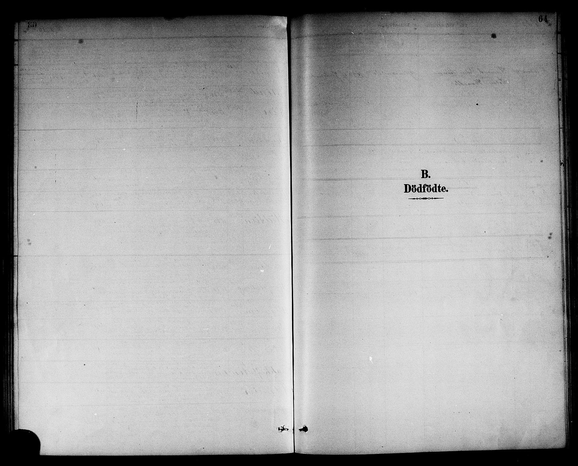SAB, Sogndal Sokneprestembete, H/Hab/Habc/L0002: Parish register (copy) no. C 2, 1884-1910, p. 64