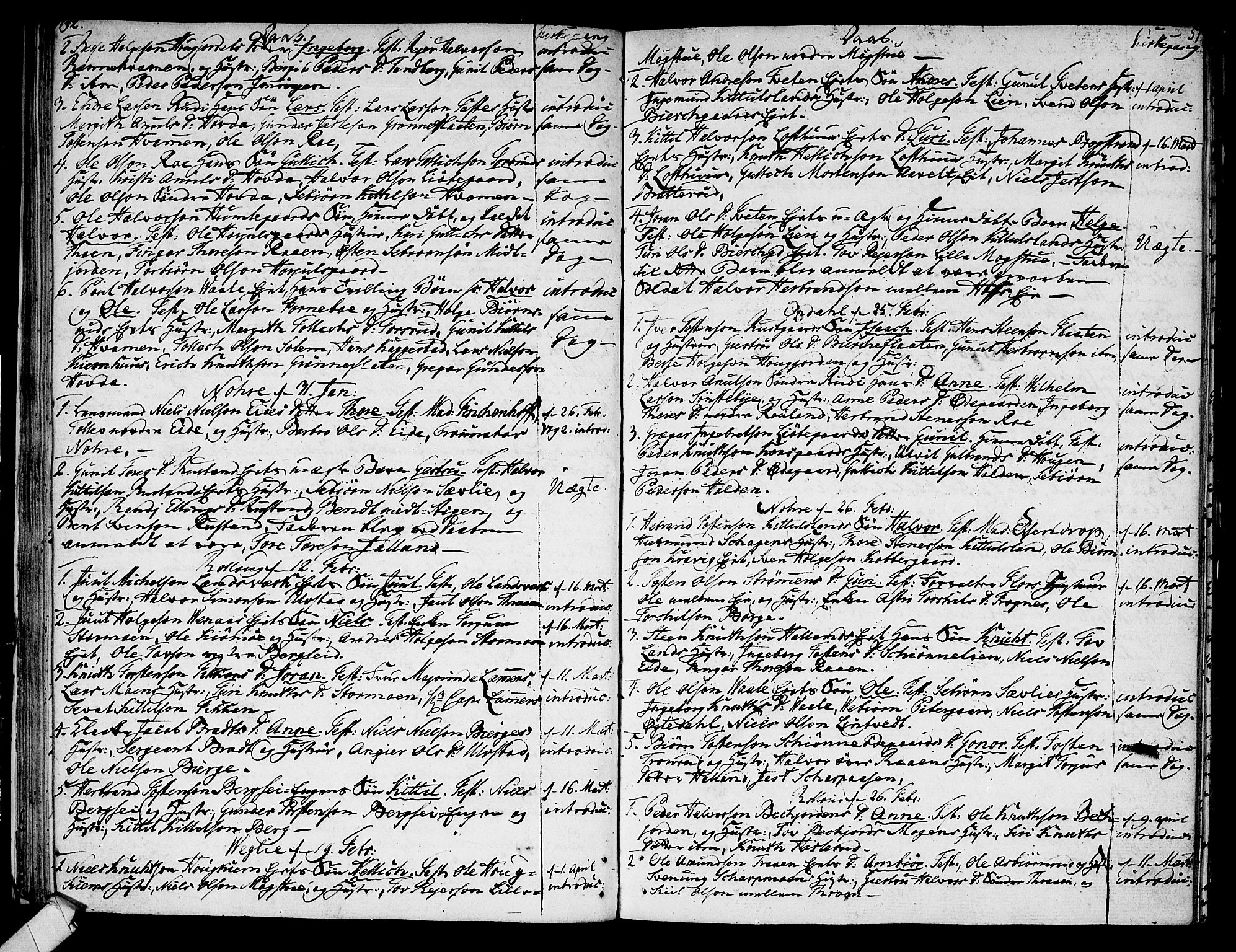 SAKO, Rollag kirkebøker, F/Fa/L0004: Parish register (official) no. I 4, 1778-1792, p. 51