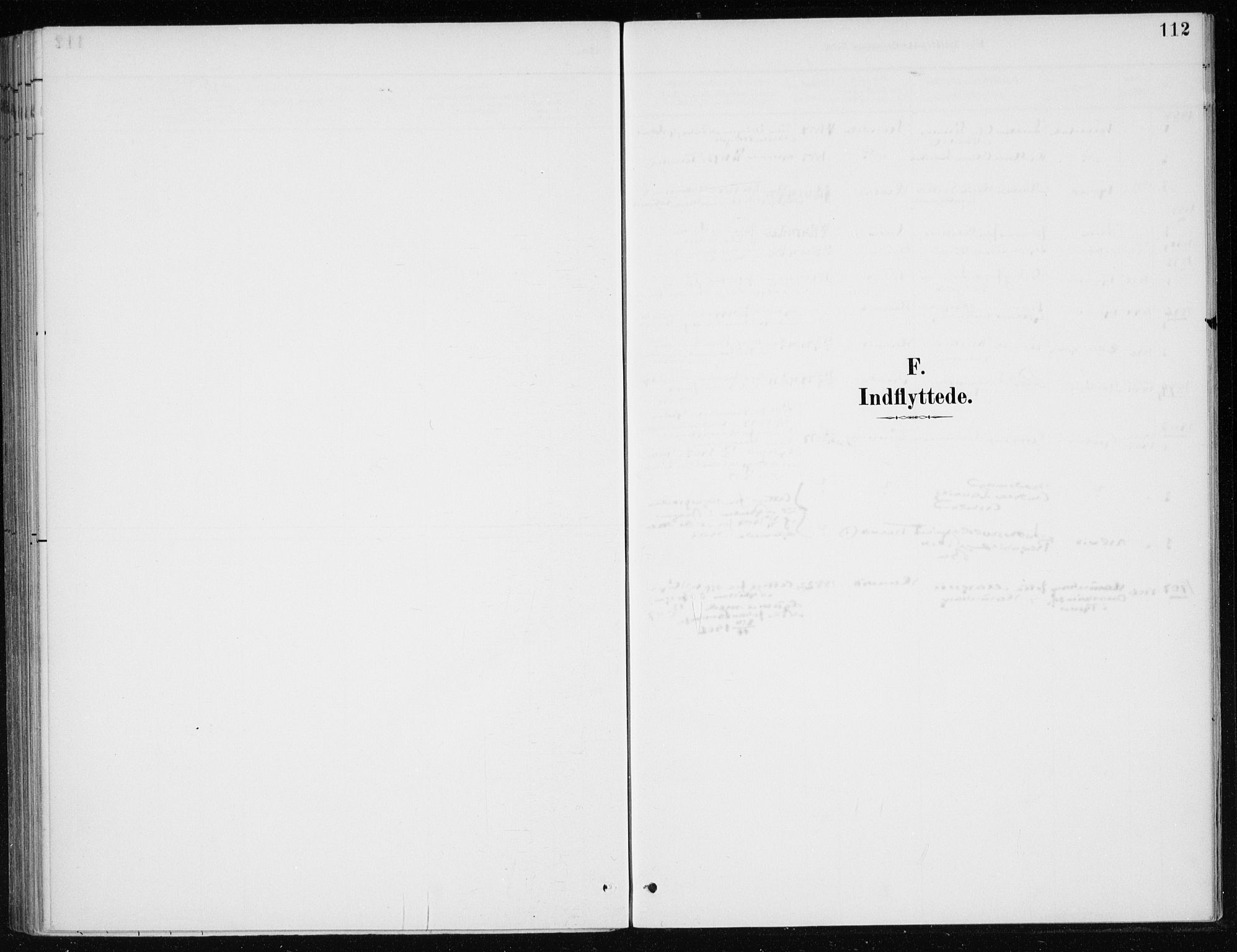 SAB, Kvinnherad Sokneprestembete, H/Haa: Parish register (official) no. E 1, 1887-1912, p. 112