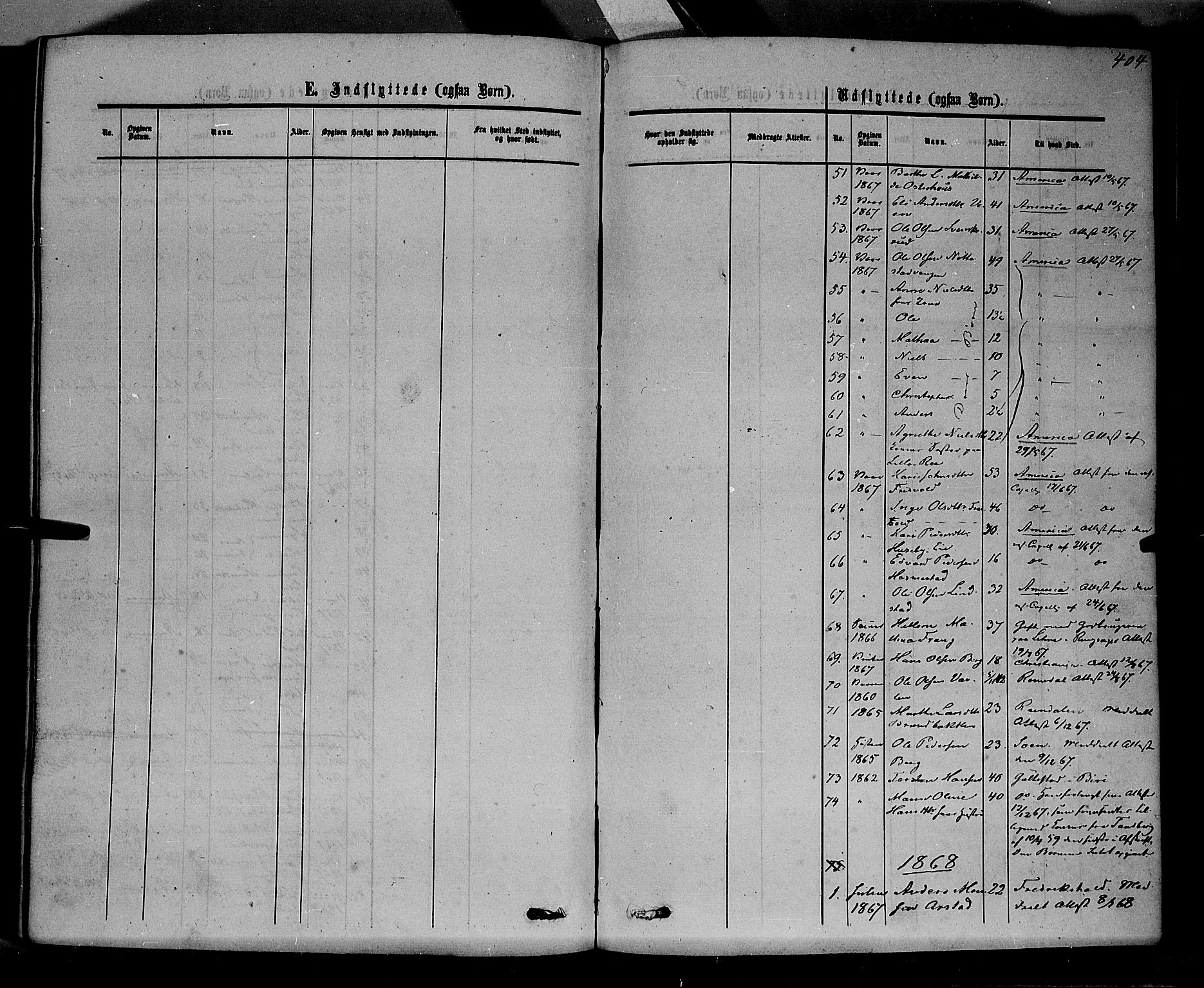 SAH, Stange prestekontor, K/L0013: Parish register (official) no. 13, 1862-1879, p. 404