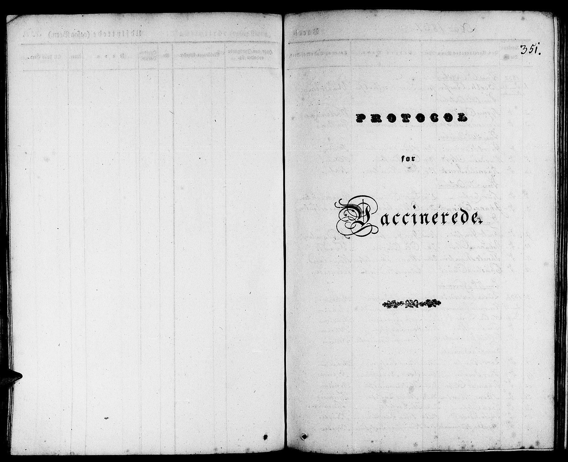 SAB, Gulen Sokneprestembete, Parish register (official) no. A 20, 1837-1847, p. 351