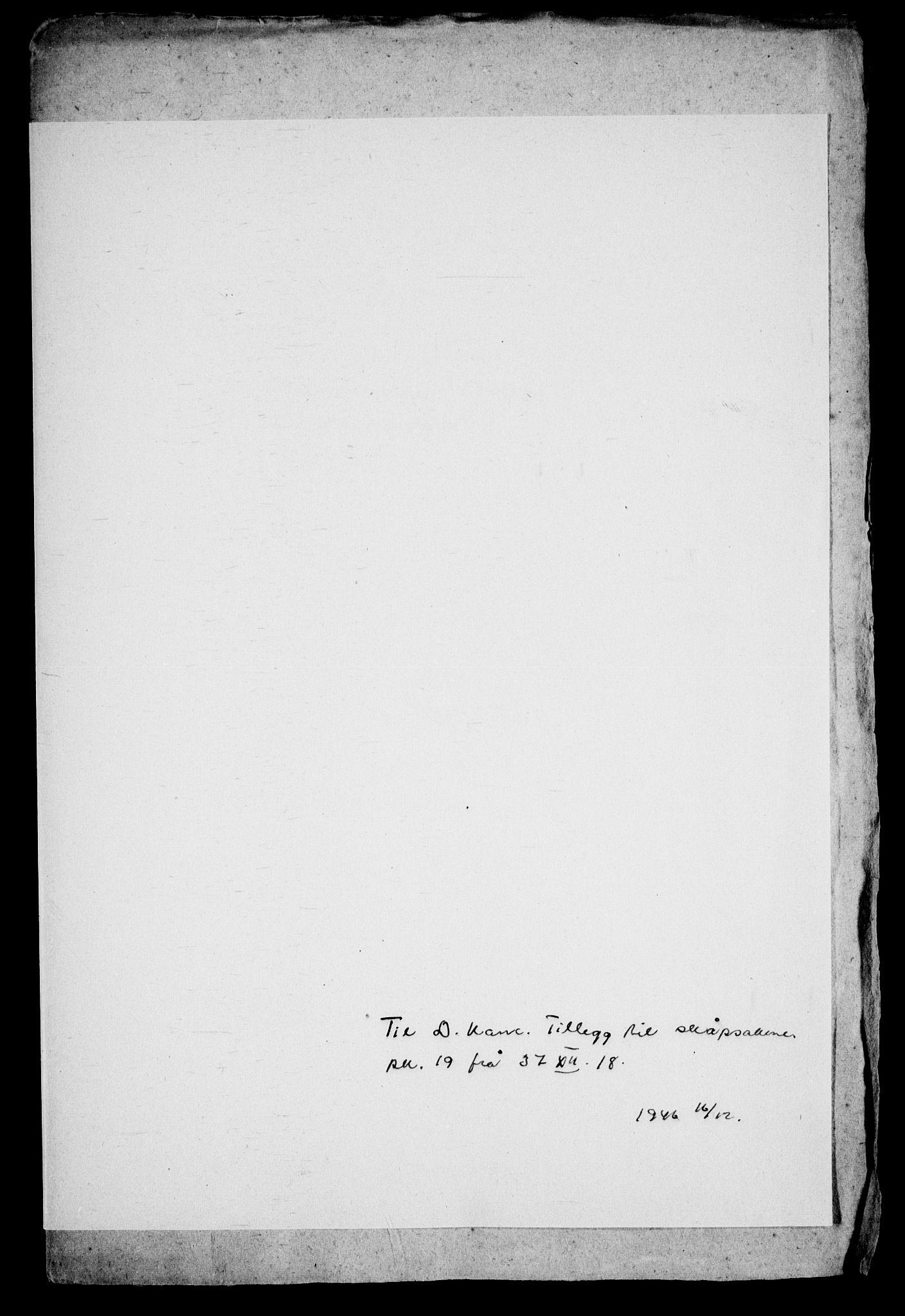 RA, Danske Kanselli, Skapsaker, G/L0019: Tillegg til skapsakene, 1616-1753, p. 114