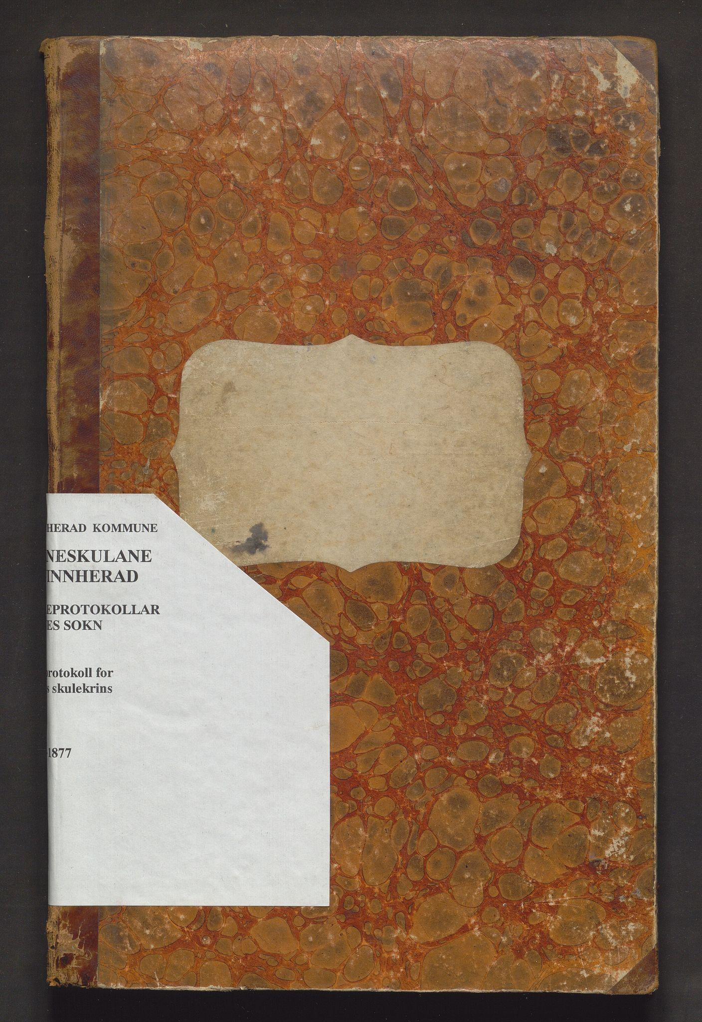 IKAH, Kvinnherad kommune. Barneskulane, F/Ff/L0002: Skuleprotokoll for Husnes krins , 1864-1877
