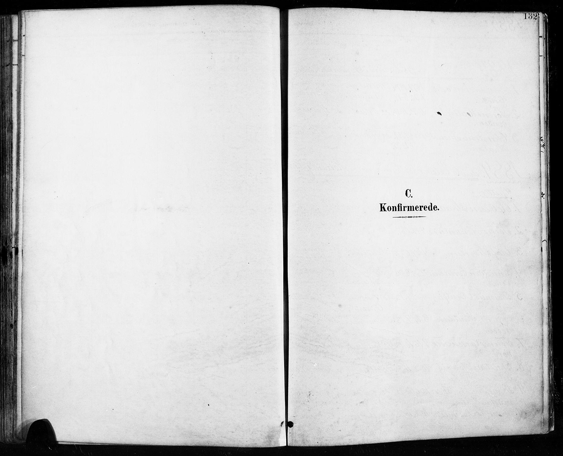 SAST, Høyland sokneprestkontor, 30BA/L0013: Parish register (official) no. A 13.1, 1889-1898, p. 132